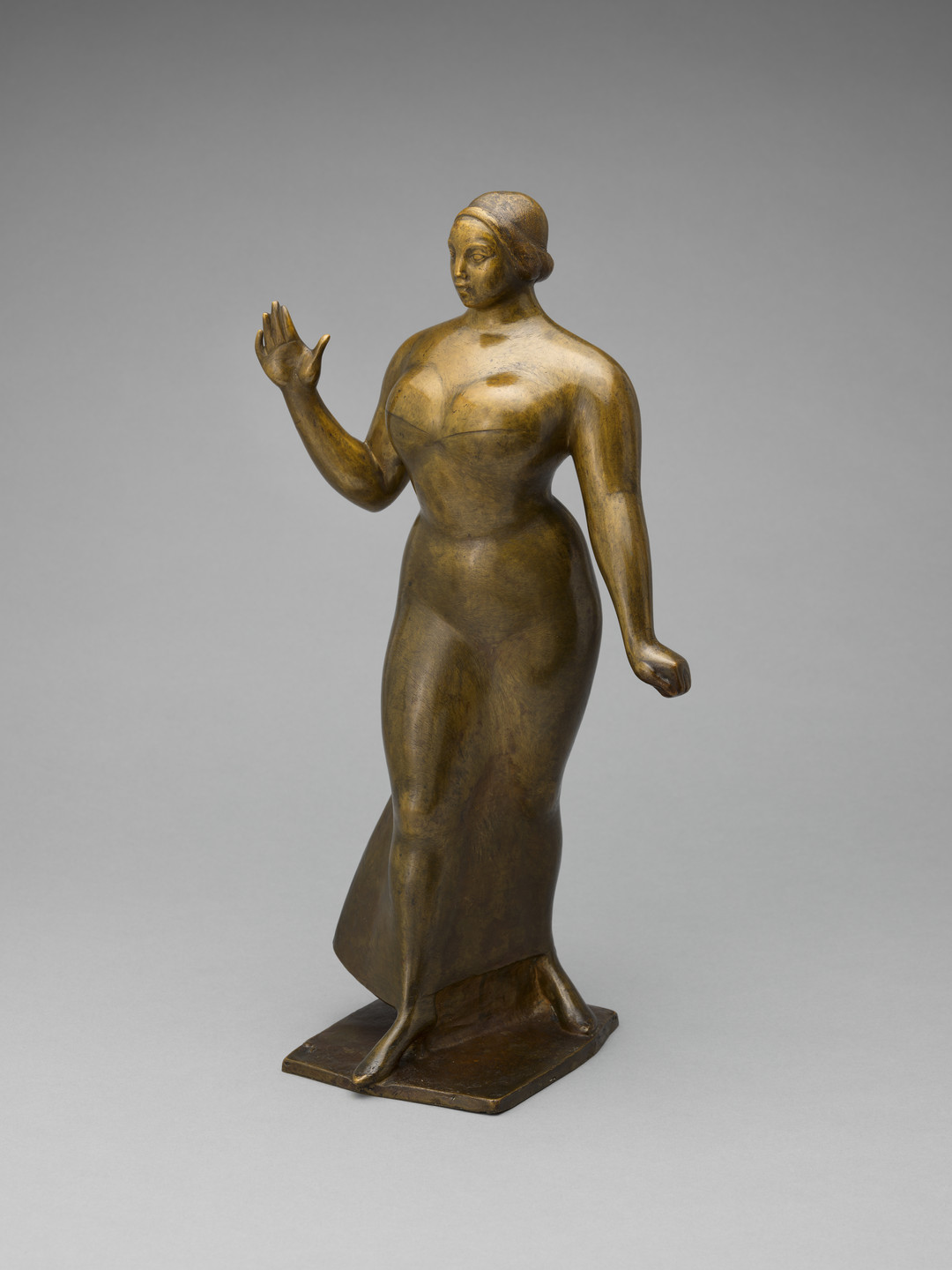 Gaston Lachaise. Woman Walking. 1919 (cast 1924)
