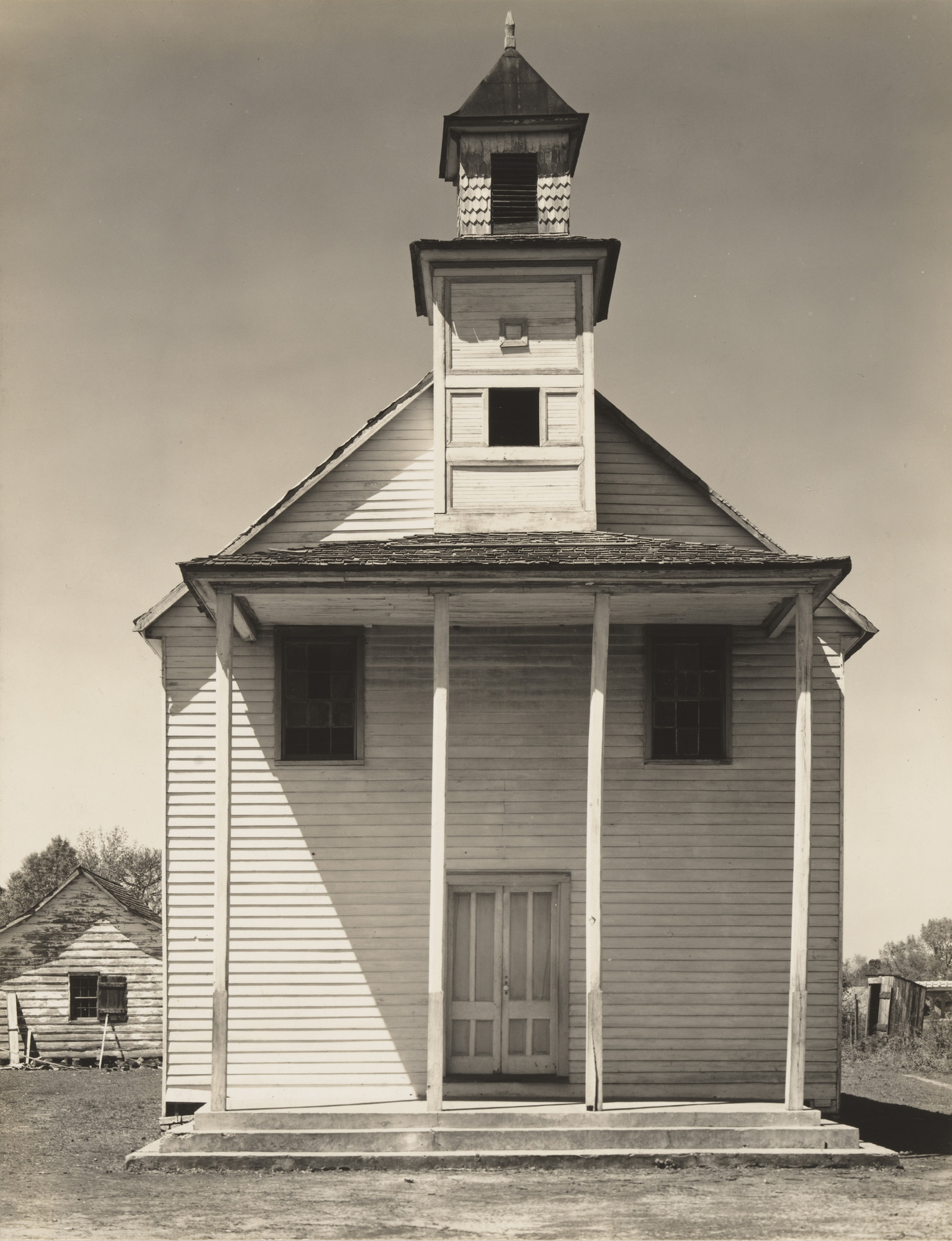 Walker Evans. Negro Church, South Carolina. 1936