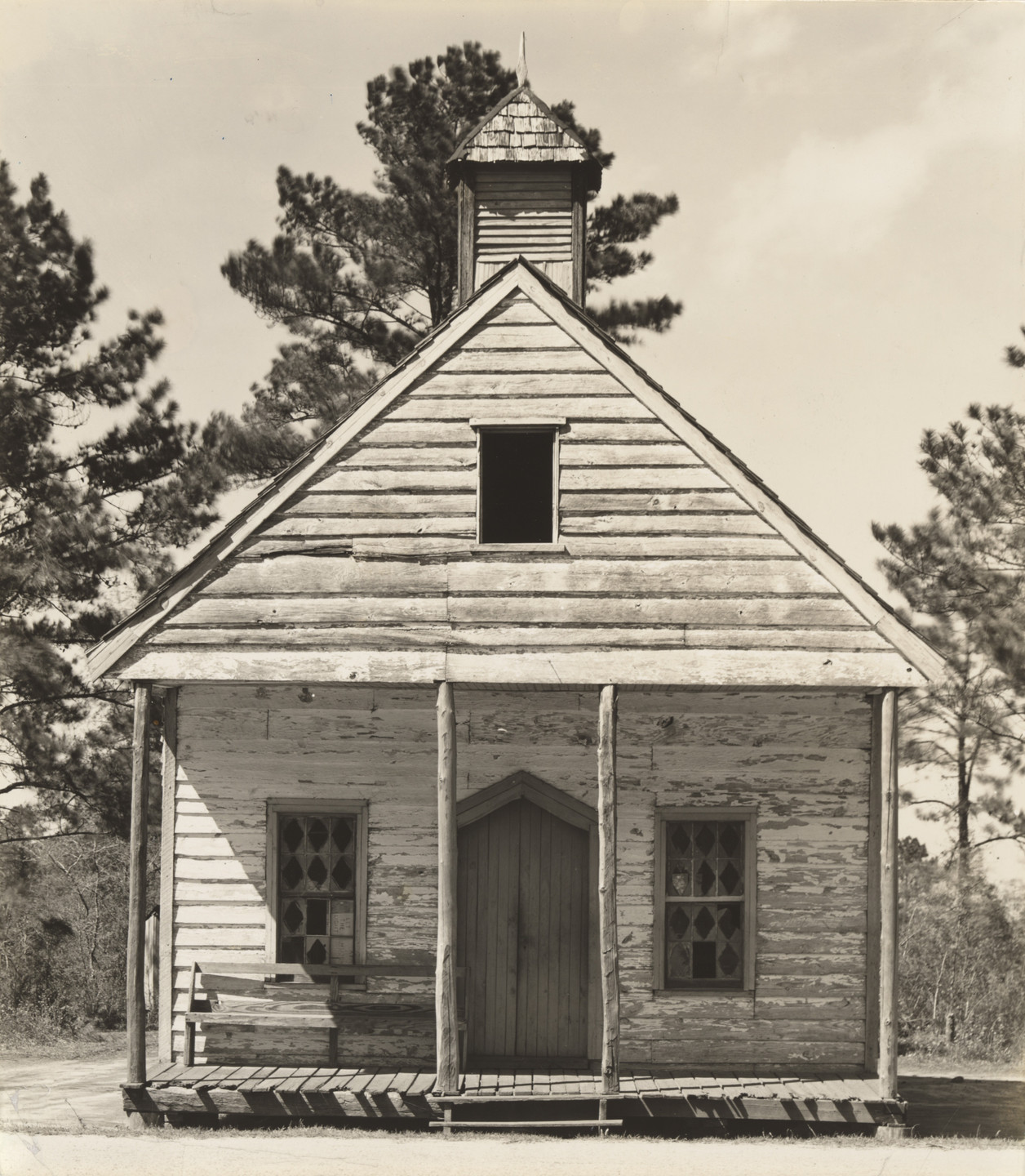 Walker Evans. Wooden Church, South Carolina. 1936