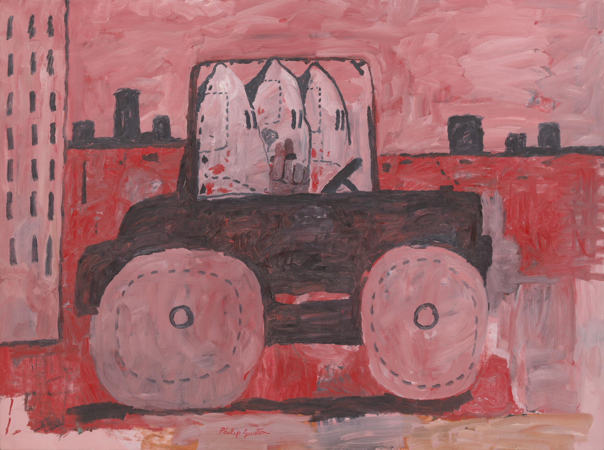 Philip Guston. City Limits. 1969
