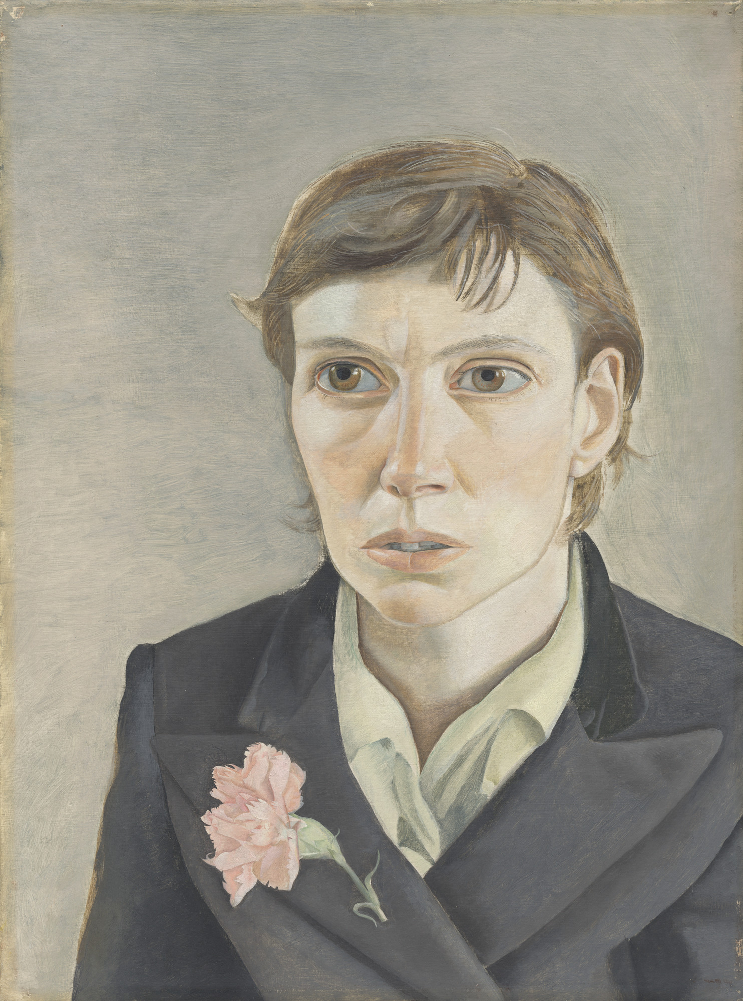 Lucian Freud. Portrait of a Woman. 1949
