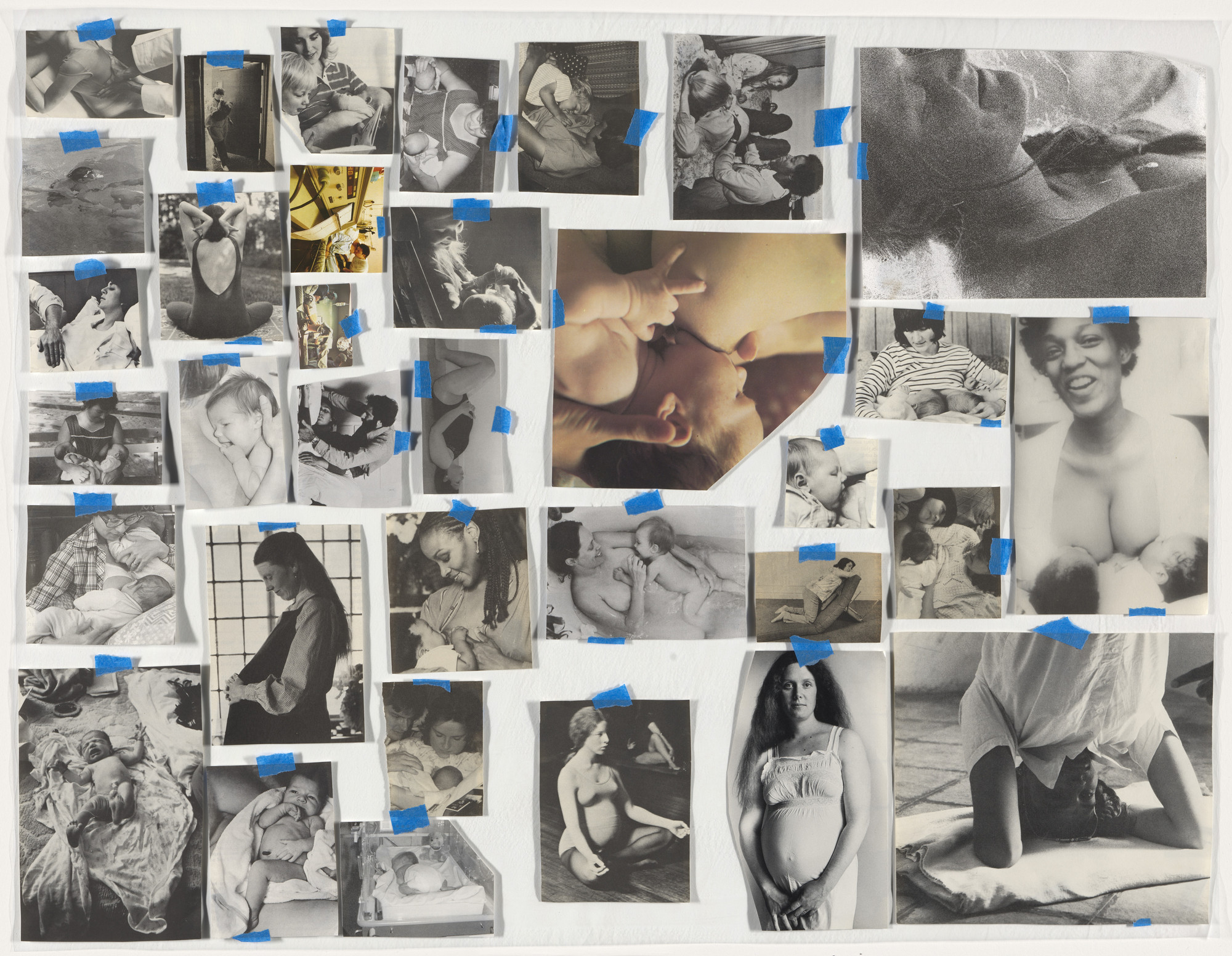 Carmen Winant. My Birth. 2018