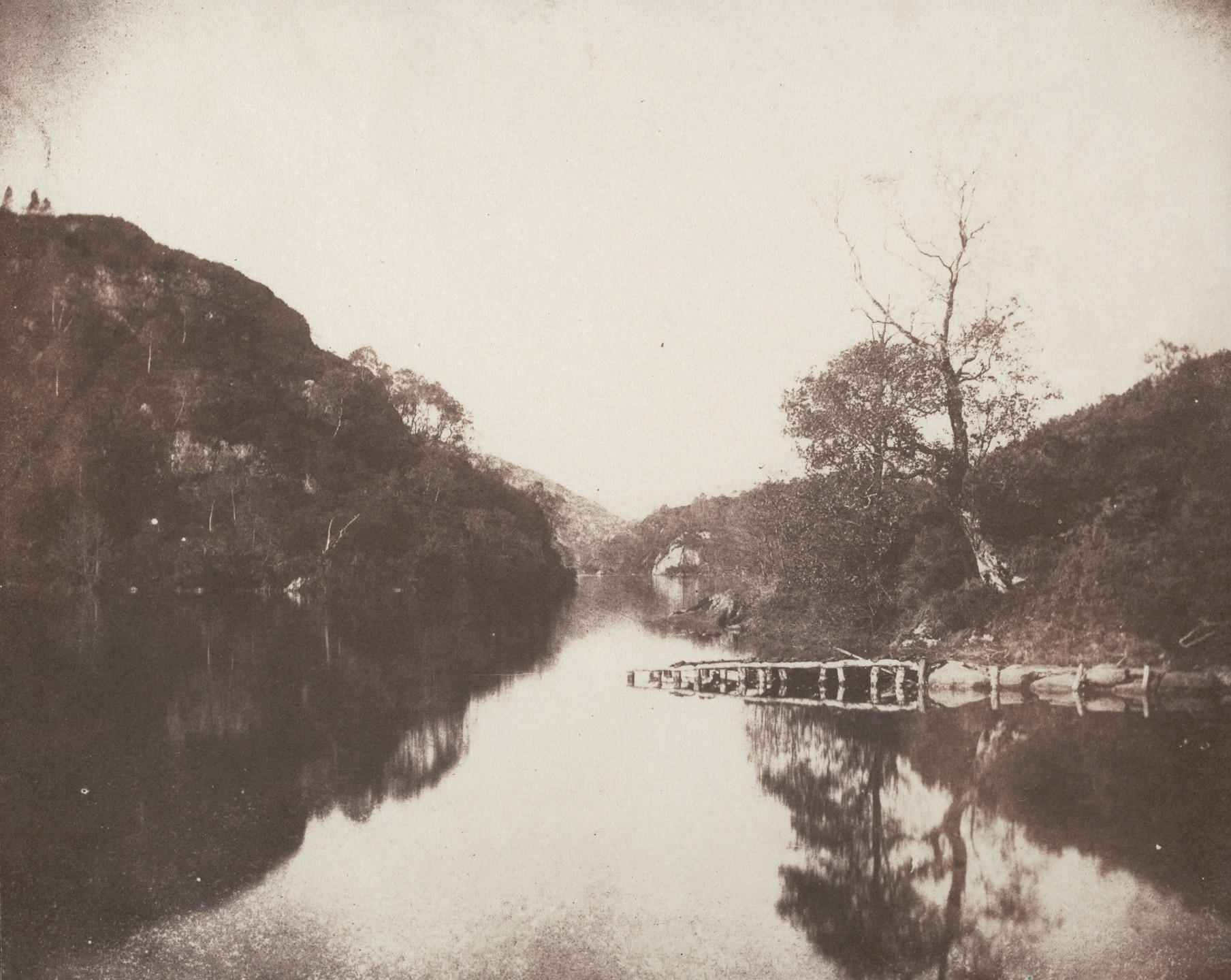 William Henry Fox Talbot. Loch Katrine. 1844