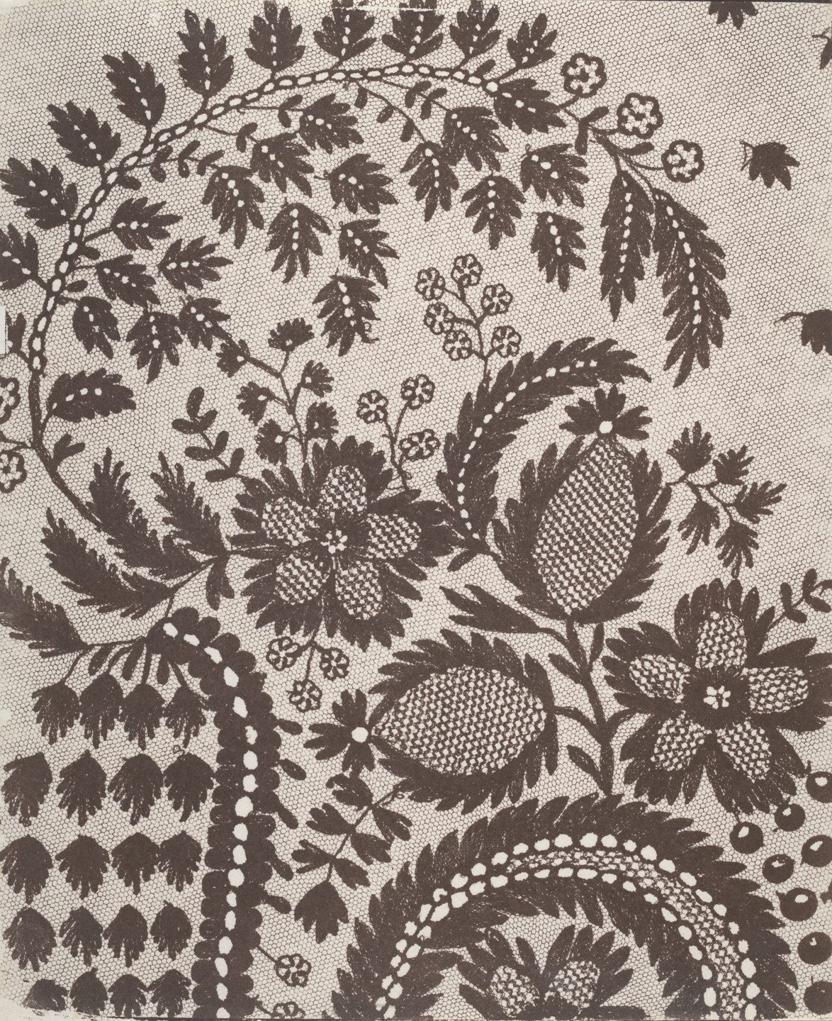 William Henry Fox Talbot. Lace. 1840s