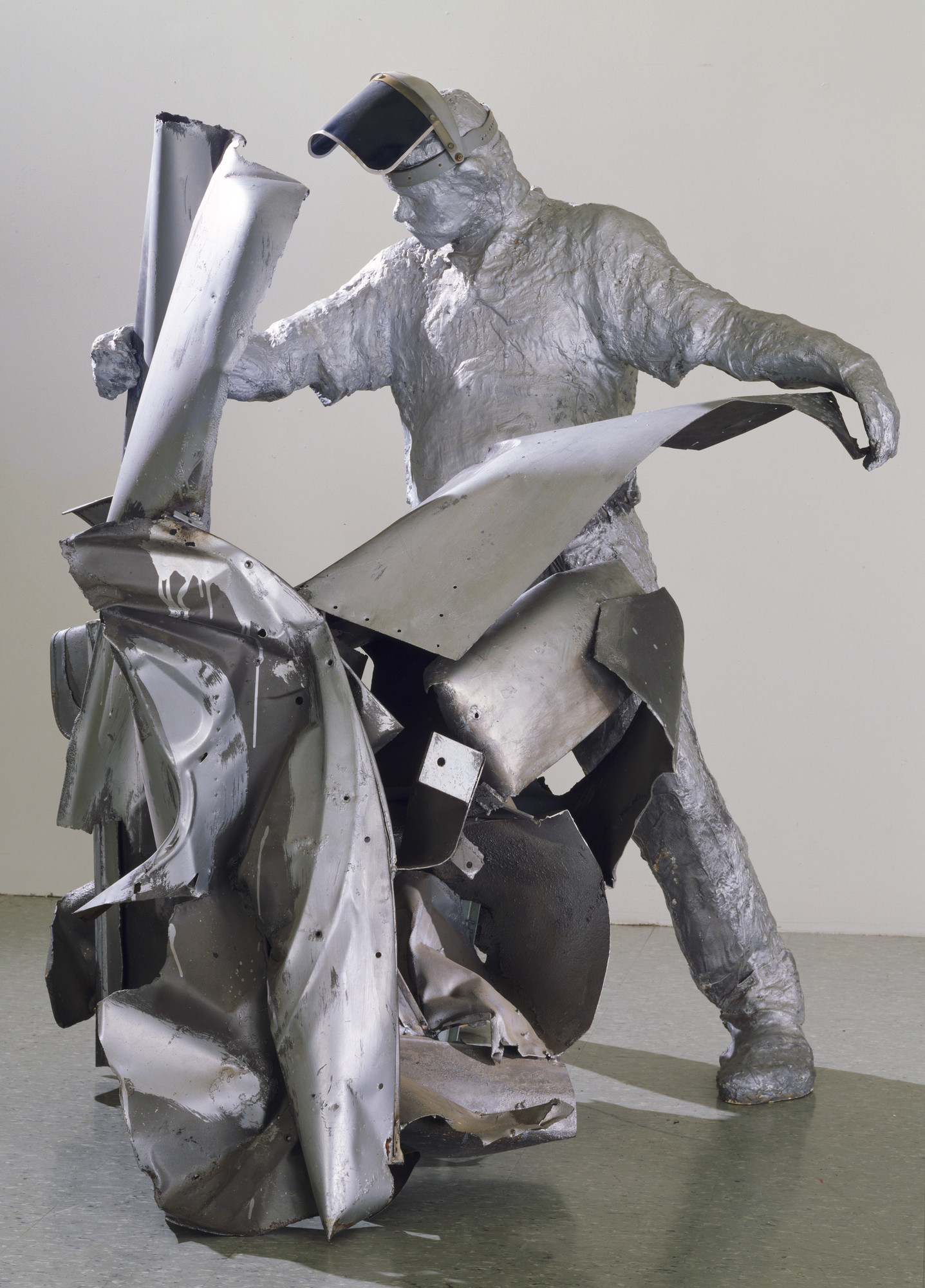 George Segal. John Chamberlain Working. 1965-67