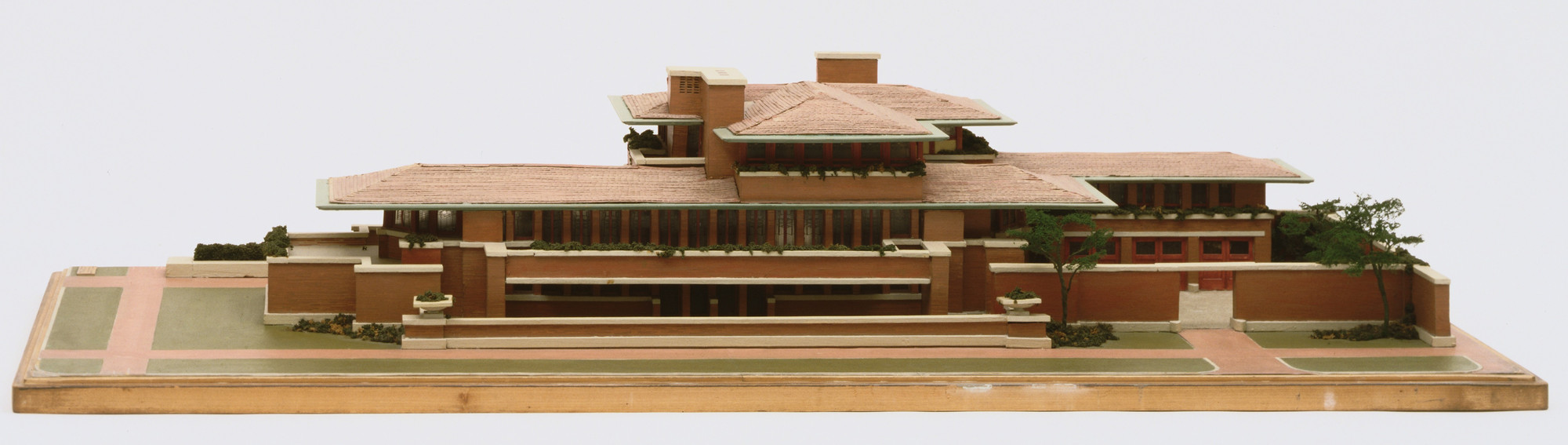 Frank Lloyd Wright. Frederick C. Robie House, Chicago, Illinois. 1906-09