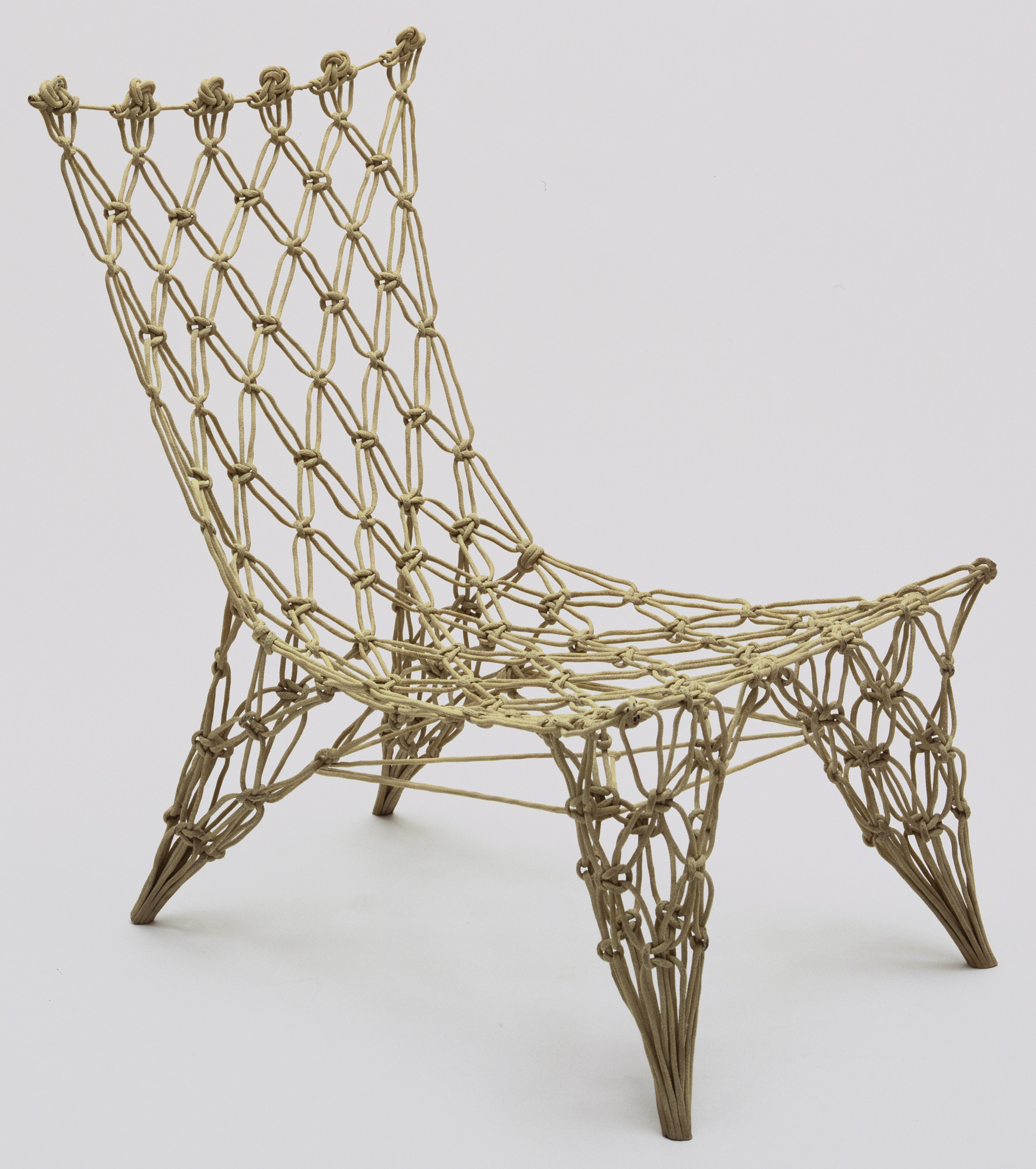 Marcel Wanders. Knotted Chair. 1995
