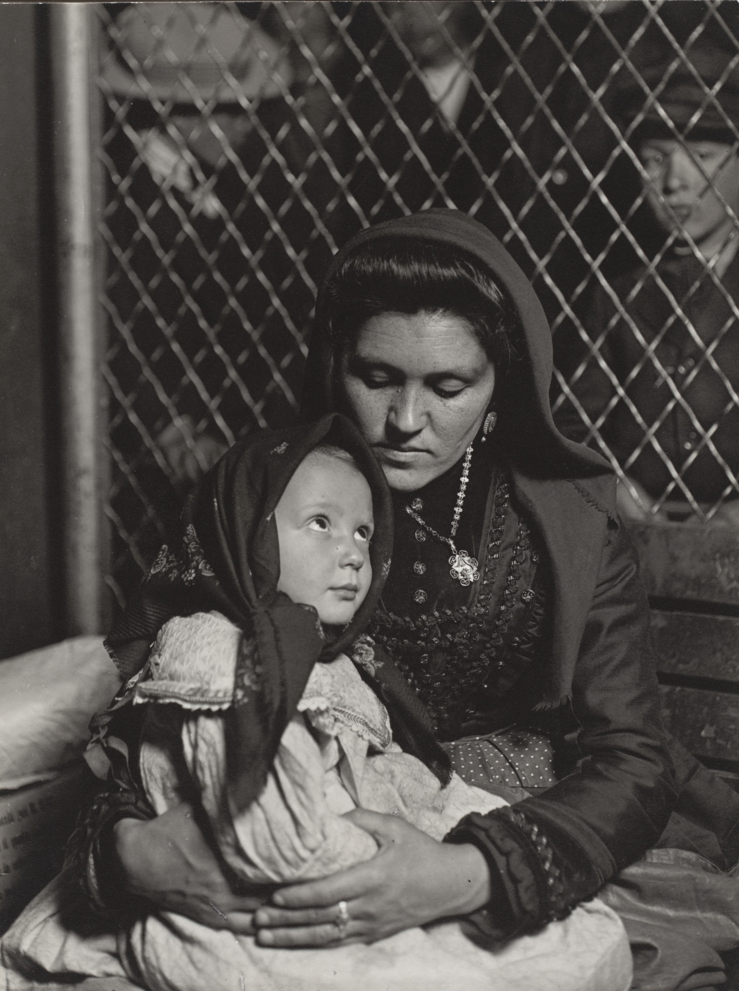 Lewis W. Hine. Peace, Ellis Island, New York. 1905