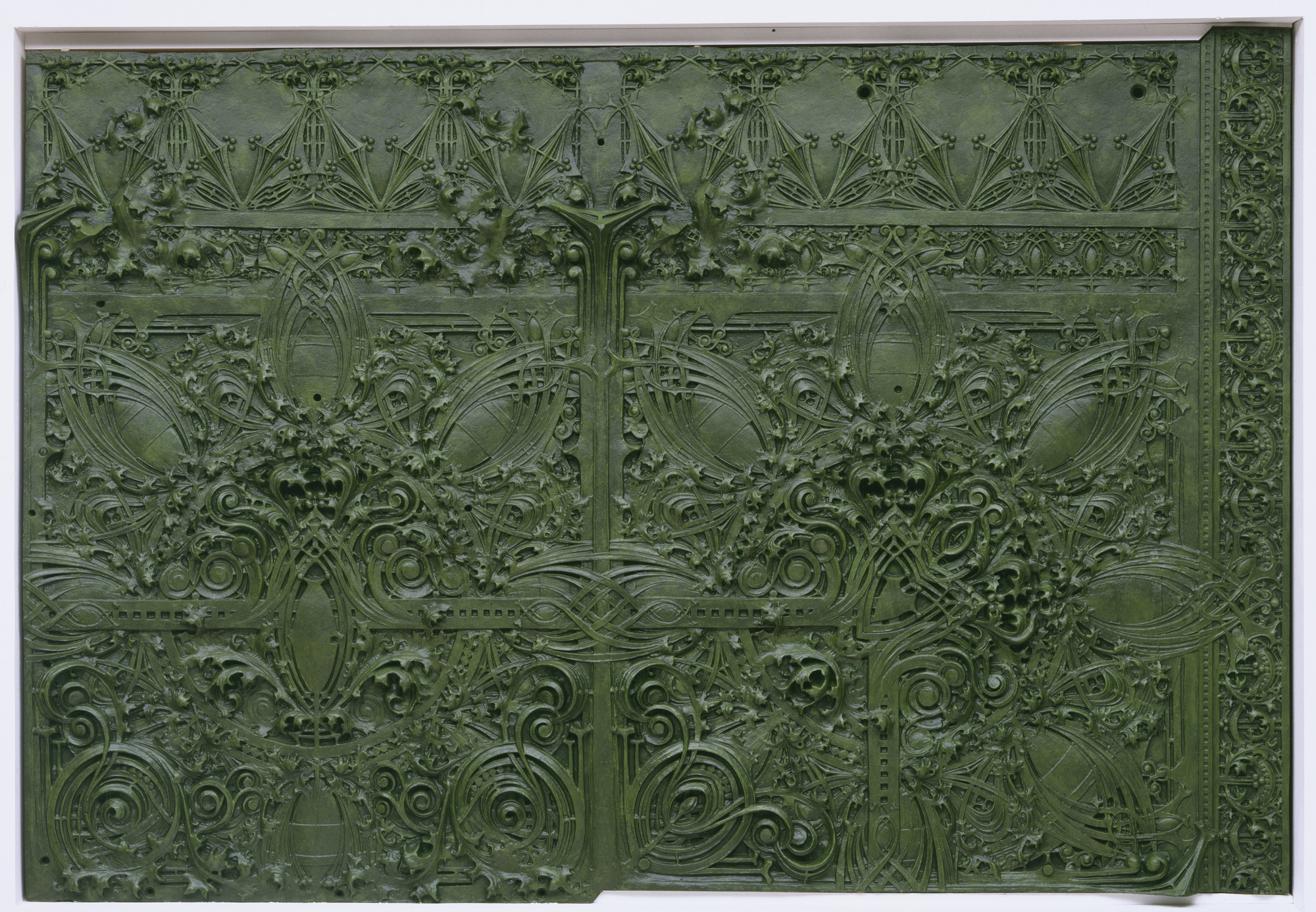 Louis Sullivan. Spandrel from Gage Building, Chicago, Illinois. 1898-99