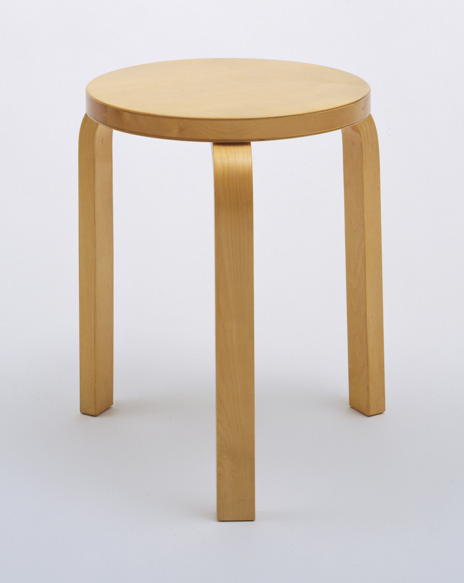 Alvar Aalto. Stacking Stool (model 60). 1932-33