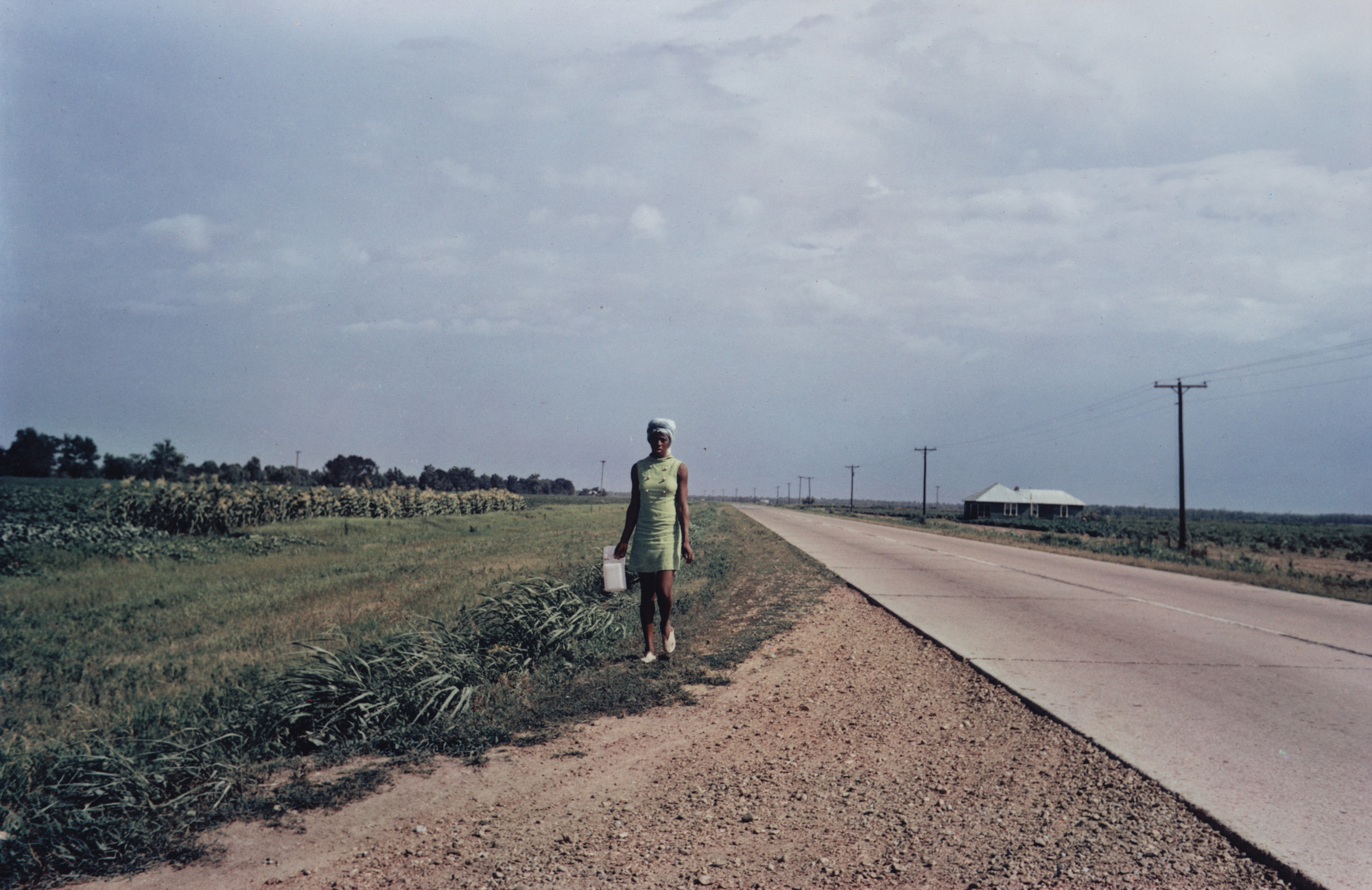 William Eggleston. Near Minter City and Glendora, Mississippi. c. 1969-70