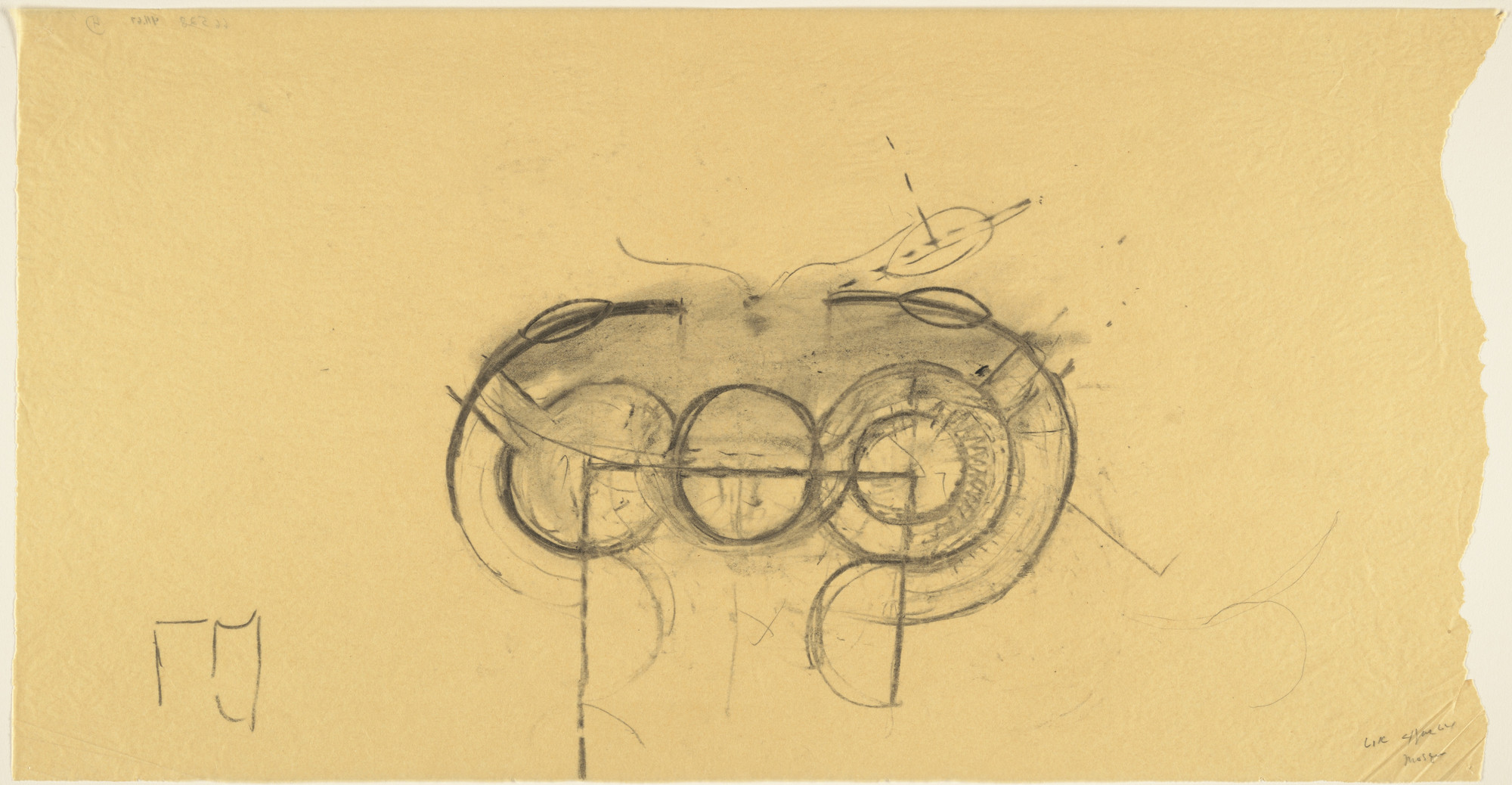 Louis I. Kahn. Sher-e-Bangla Nagar, Capital of Bangladesh, Dhaka, Bangladesh, Prayer Hall: plan sketch. 1964