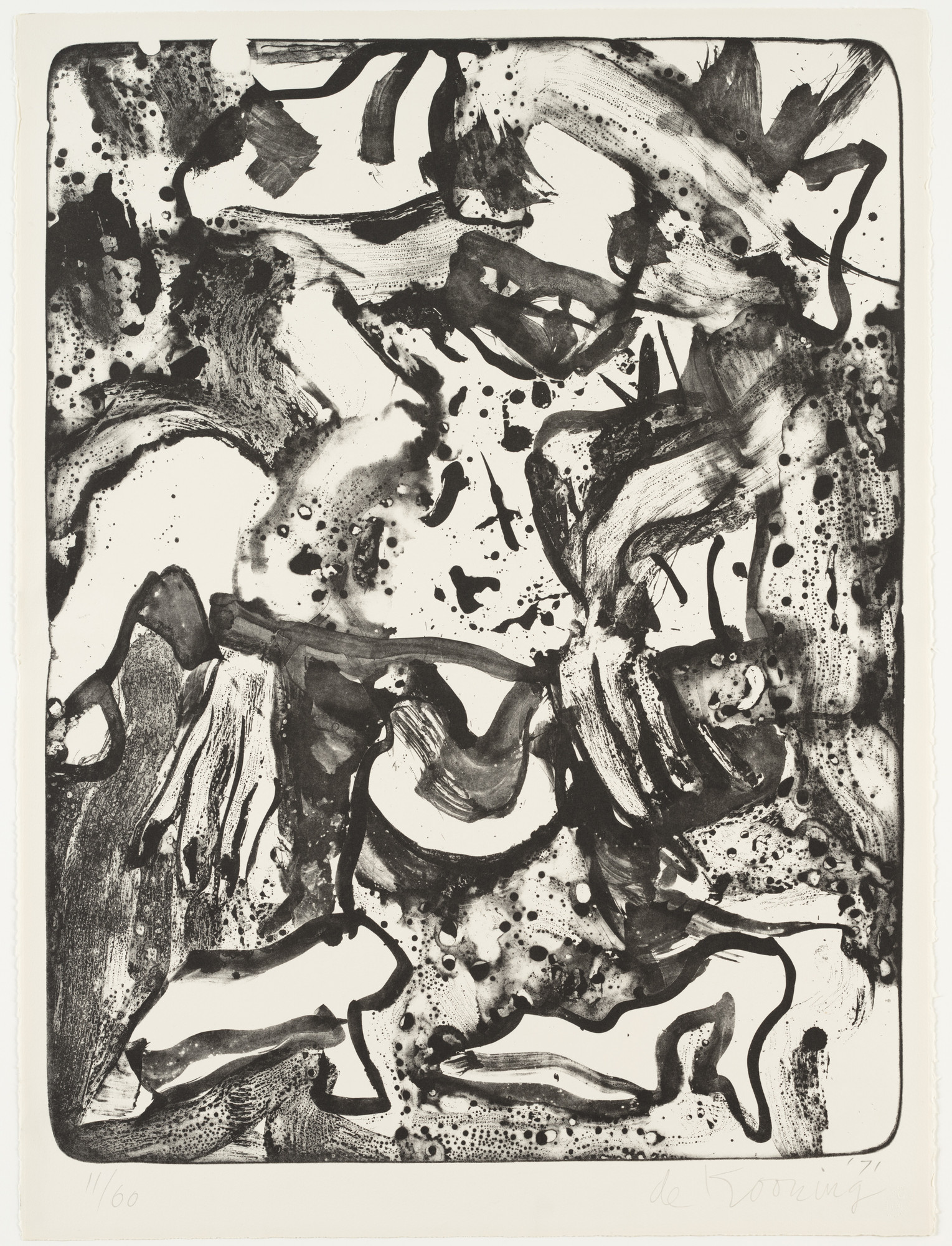 Willem de Kooning. Minnie Mouse. 1971