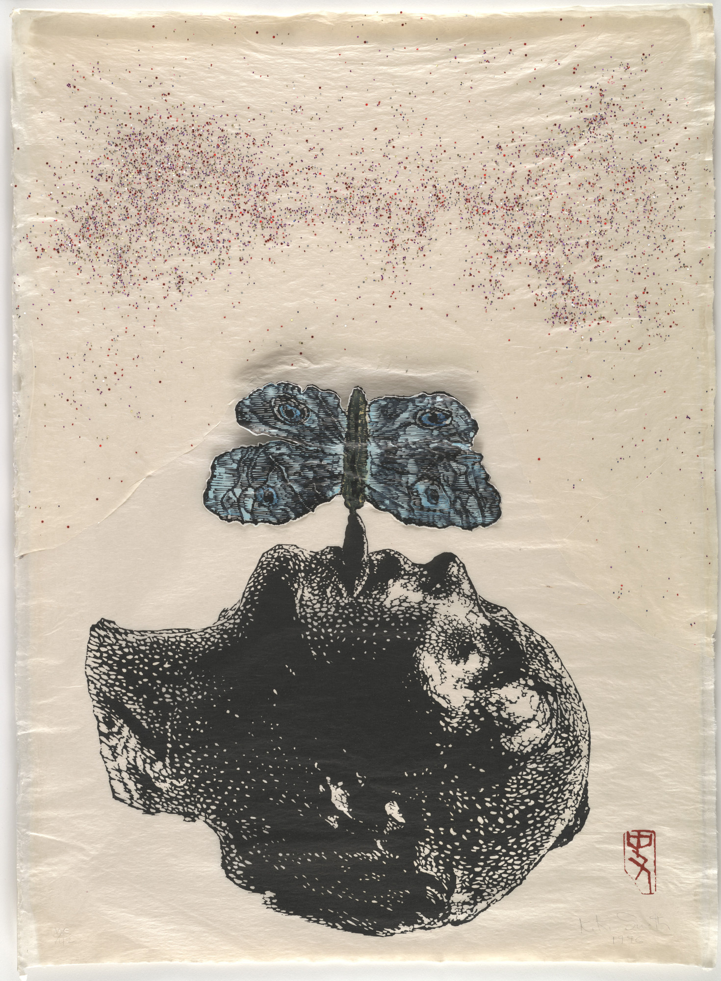 Kiki Smith. Moth. 1996