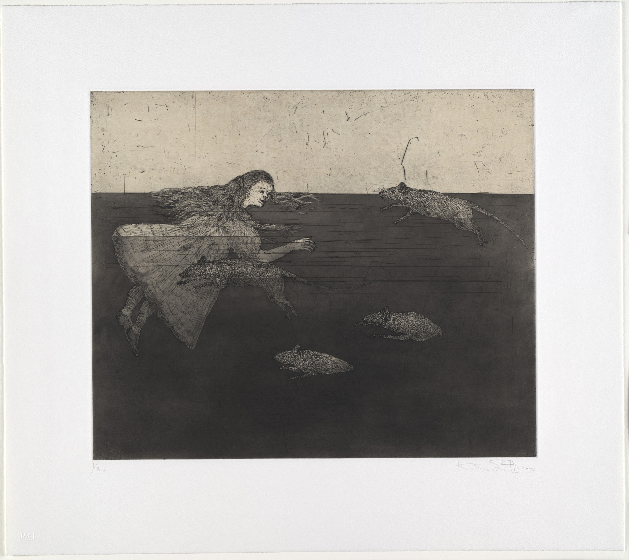 Kiki Smith. Pool of Tears 1. 2000