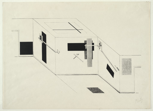 El Lissitzky. Untitled from Proun. 1919–23