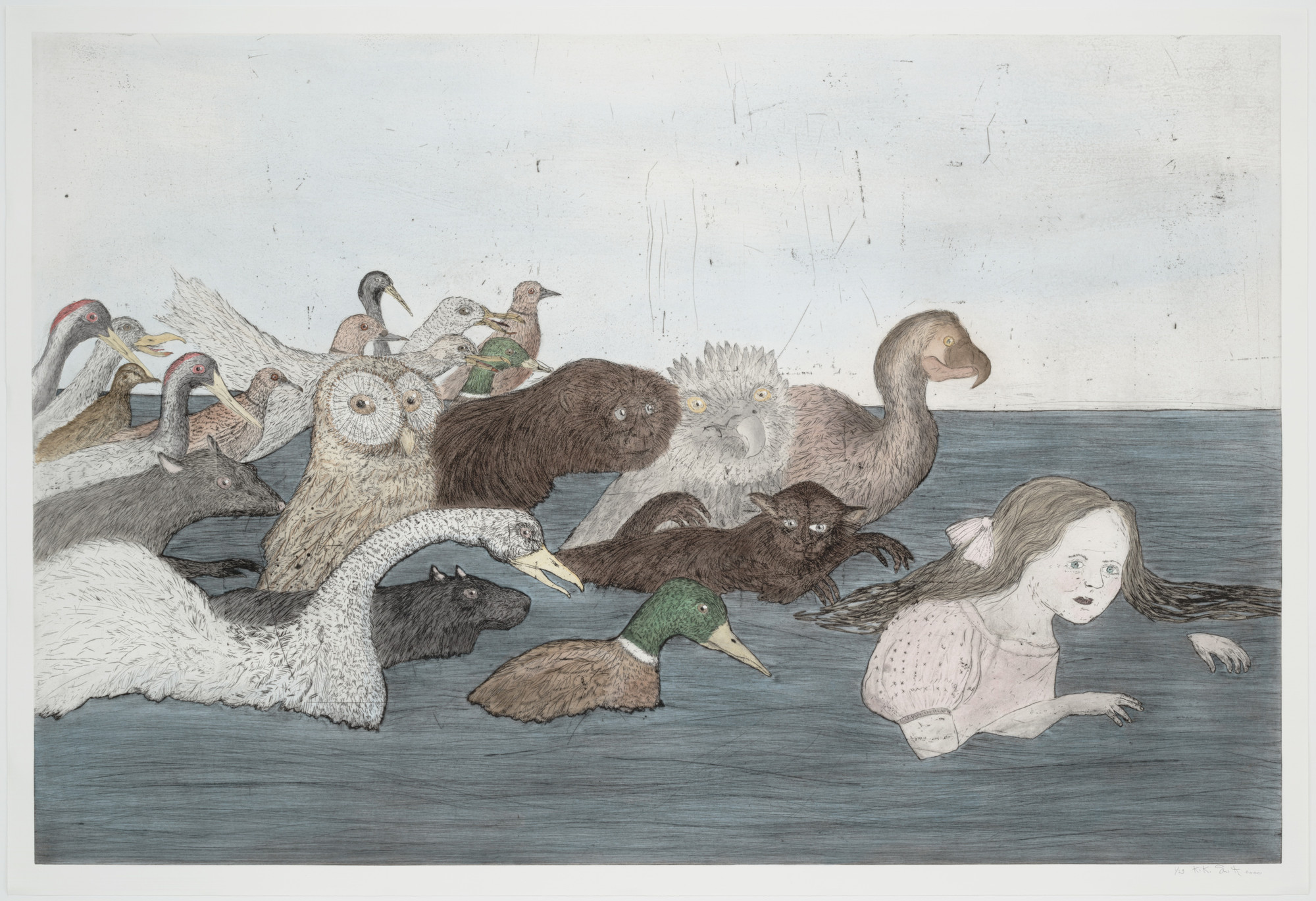 Kiki Smith. Pool of Tears 2 (after Lewis Carroll). 2000