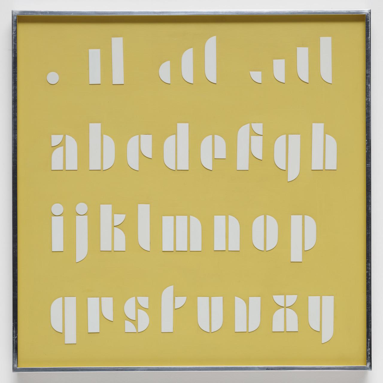 Bauhaus Lettering Set, 1926-31