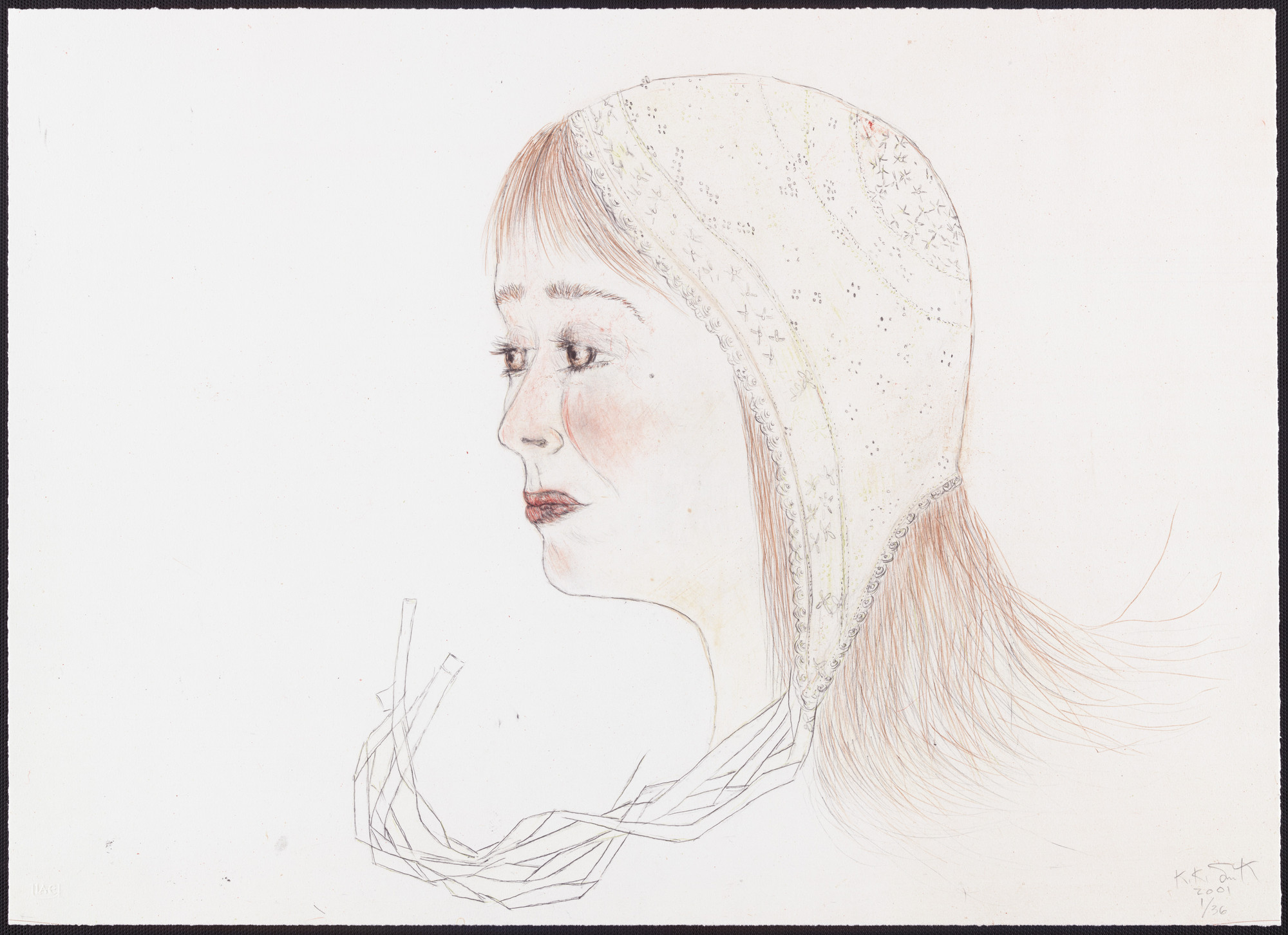 Kiki Smith. Red Cap. 2001