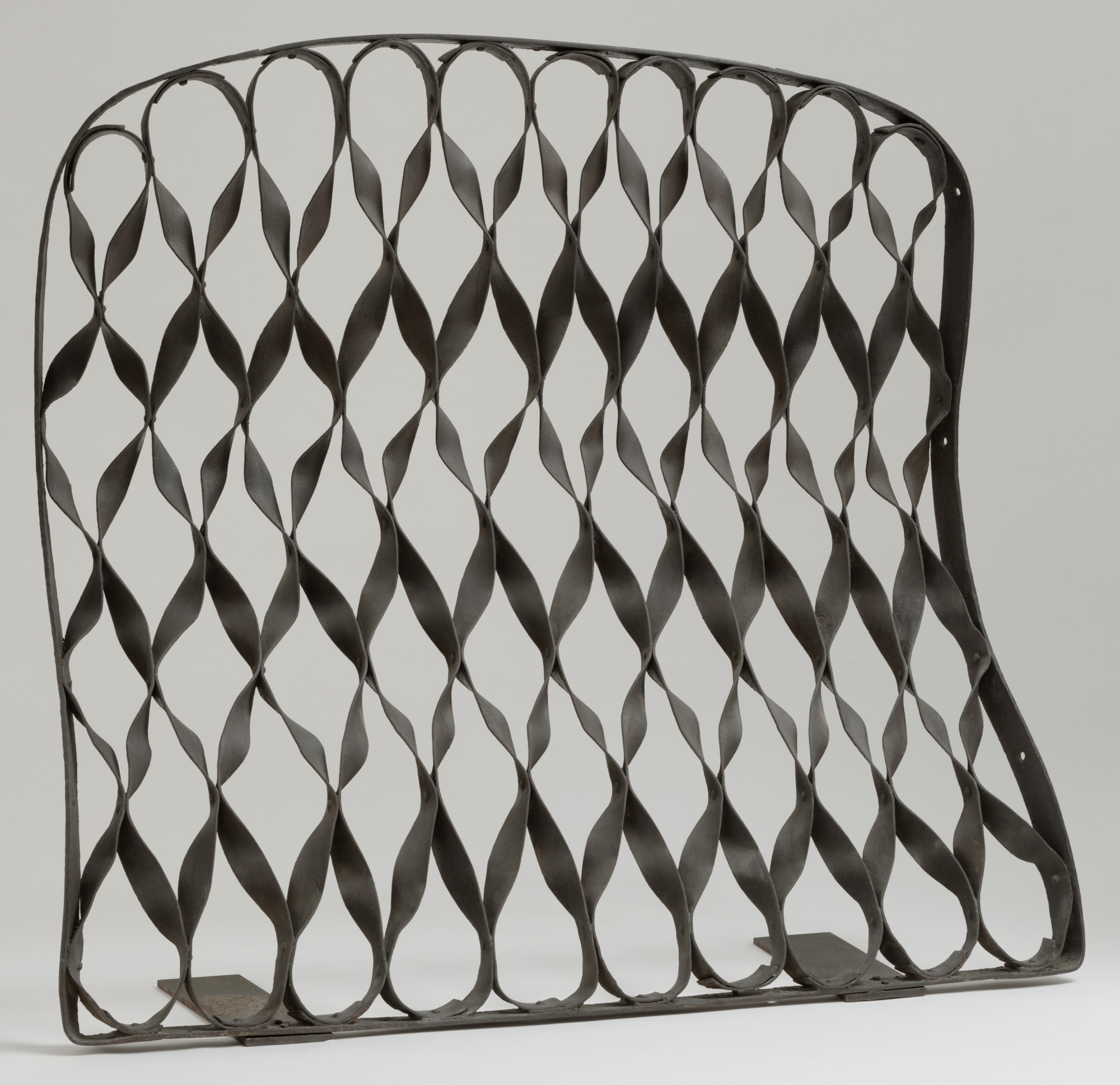 Antoni Gaudí. Grille from the Casa Milá (La Pedrera), Barcelona, Spain. 1906–1912