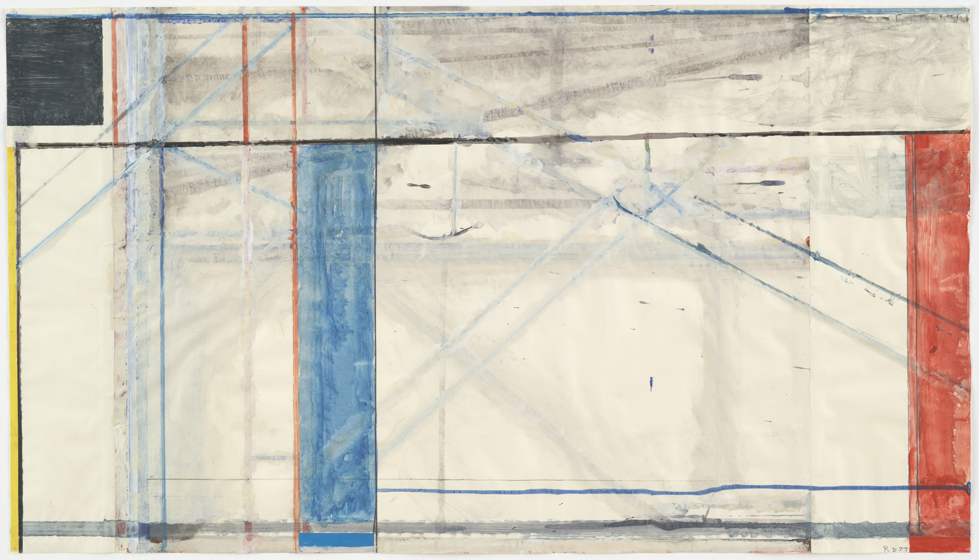 Richard Diebenkorn. Untitled (Ocean Park). 1977