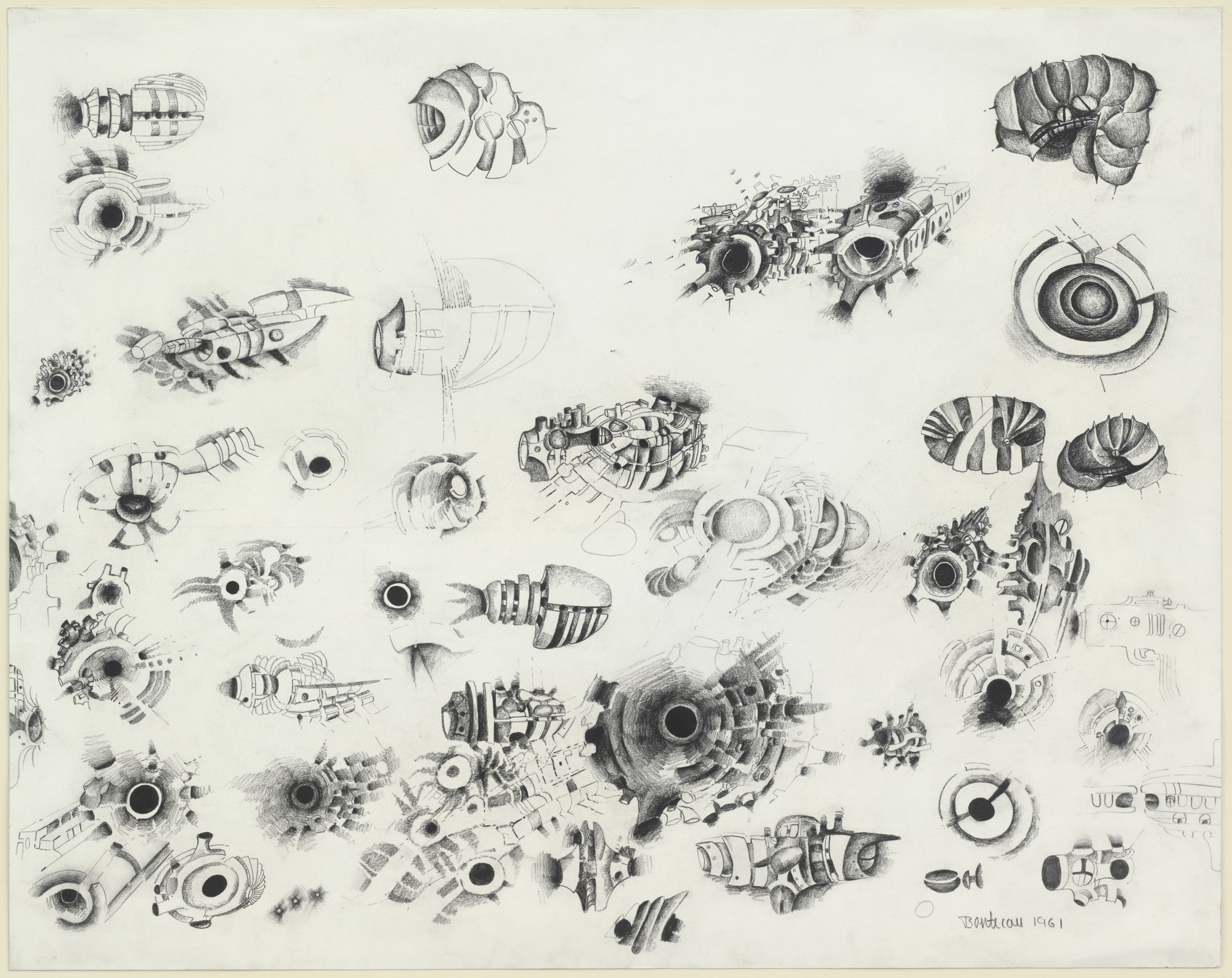 Lee Bontecou. Untitled. 1961