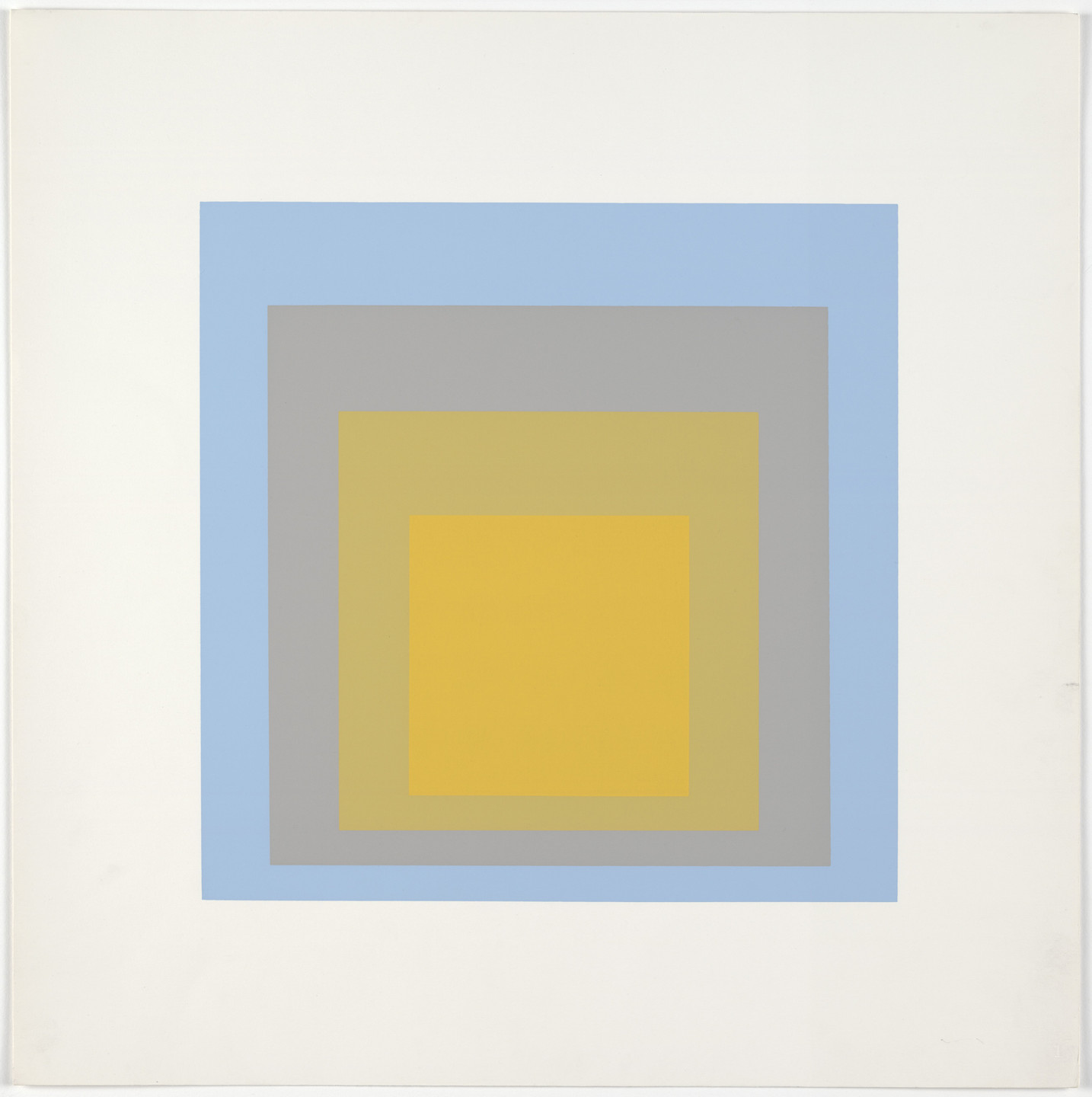 Josef Albers. Homage to the Square: Ten Works by Josef Albers. 1962