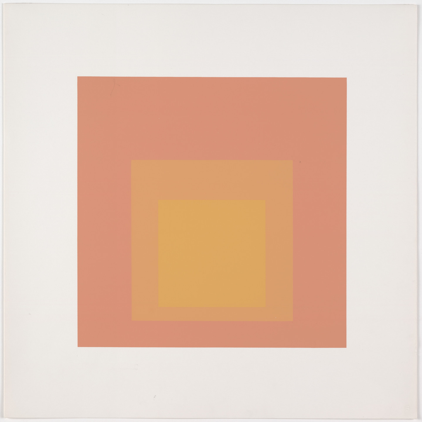 Josef Albers. Tenuous from Homage to the Square: Ten Works by Josef Albers. 1962