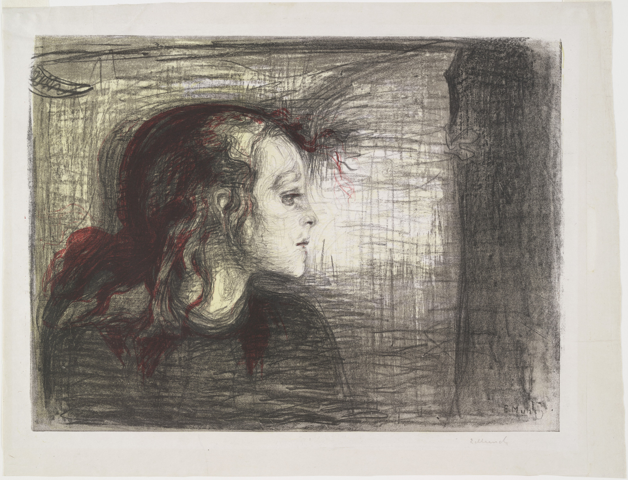 Edvard Munch. The Sick Child I (Det syke barn I). 1896