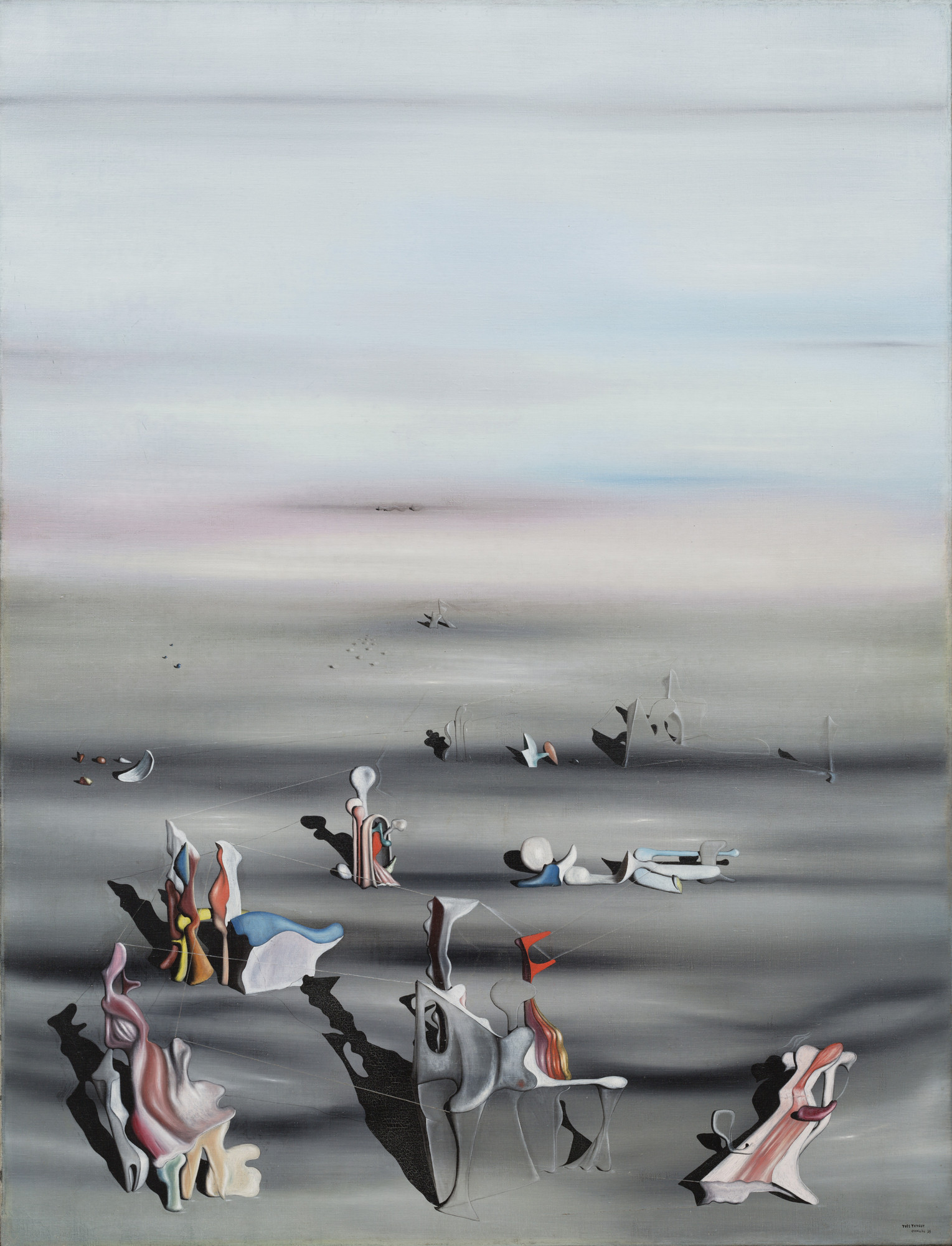 Yves Tanguy. The Furniture of Time. 1939