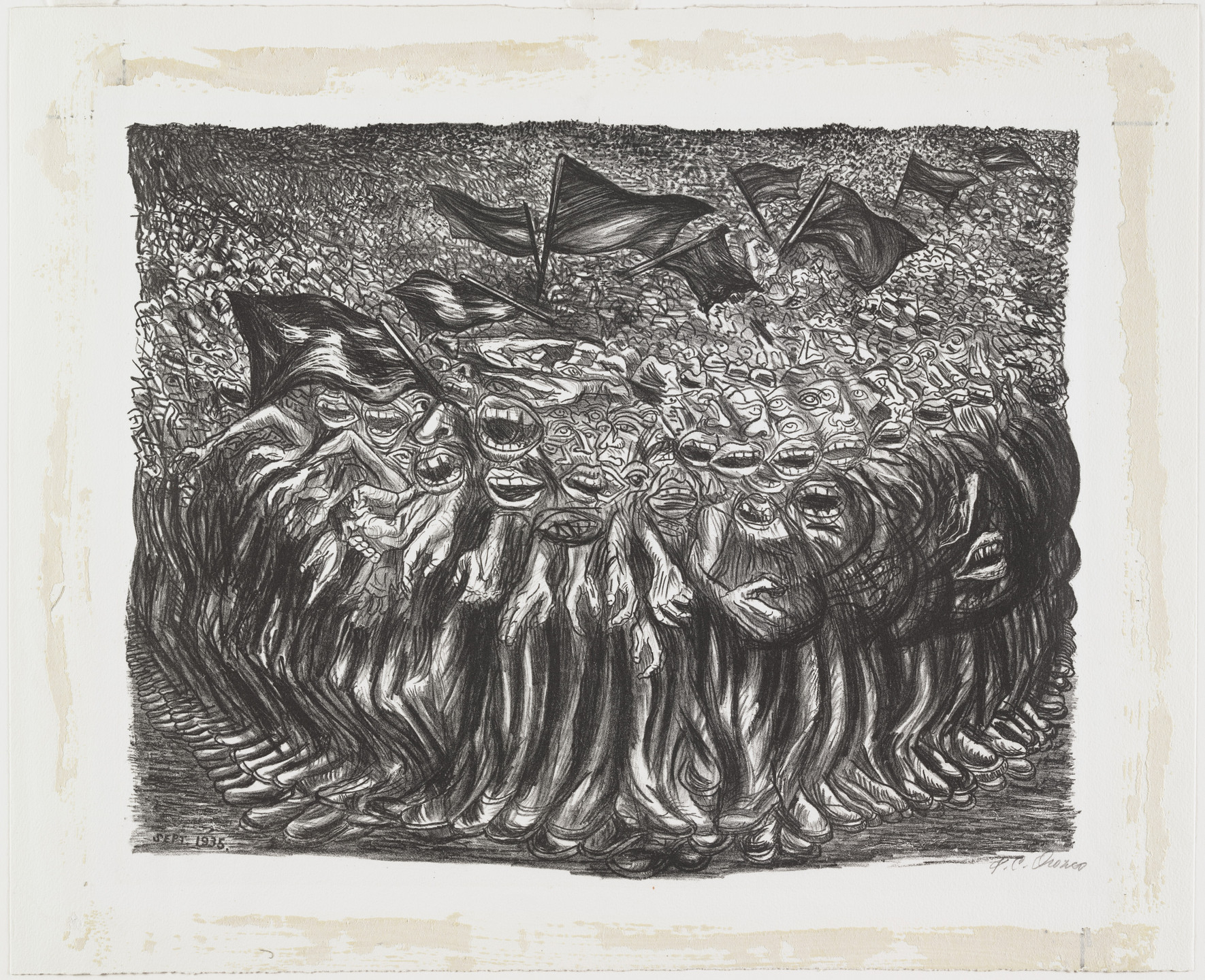 José Clemente Orozco. The Masses. 1935