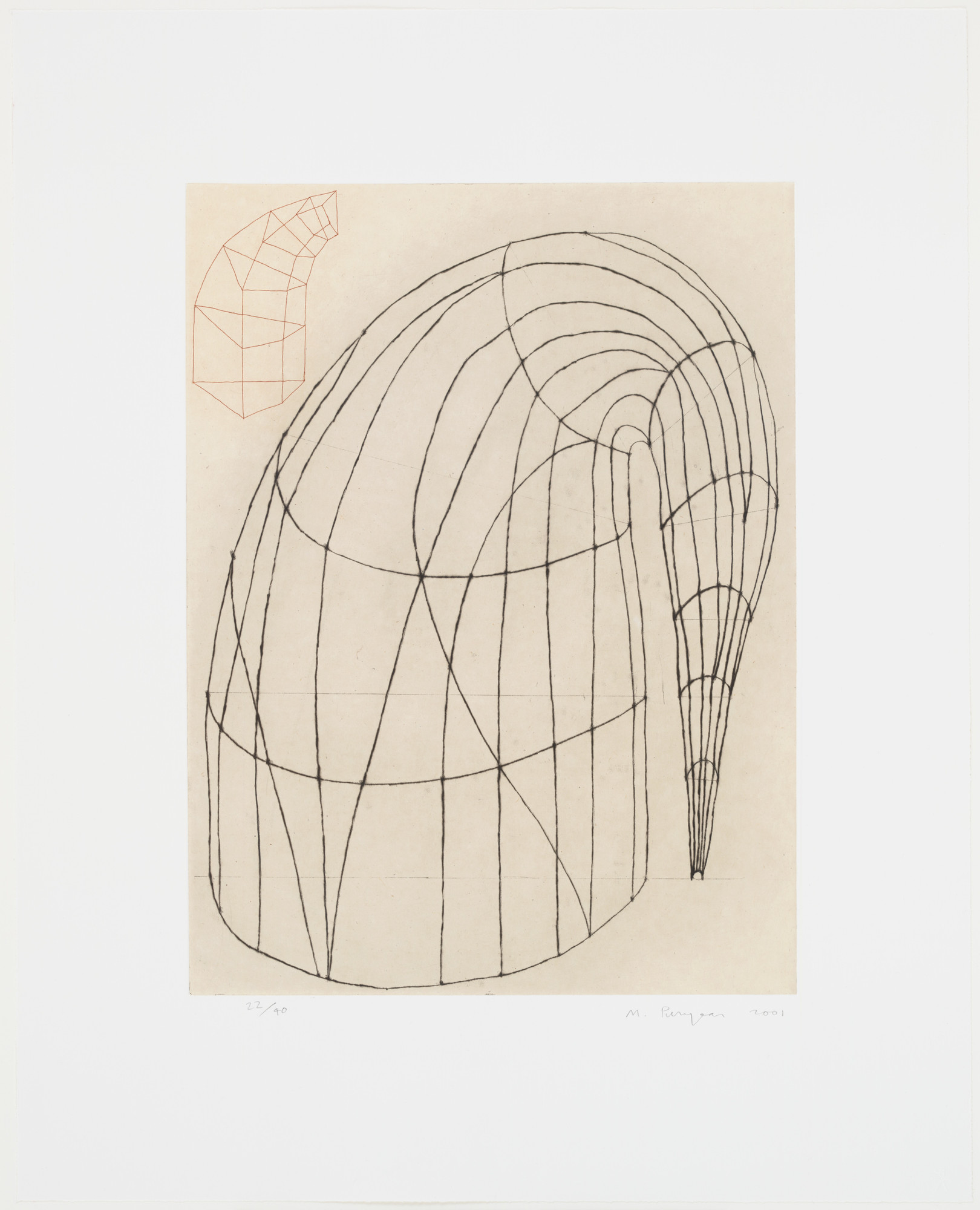 Martin Puryear. Untitled. 2001