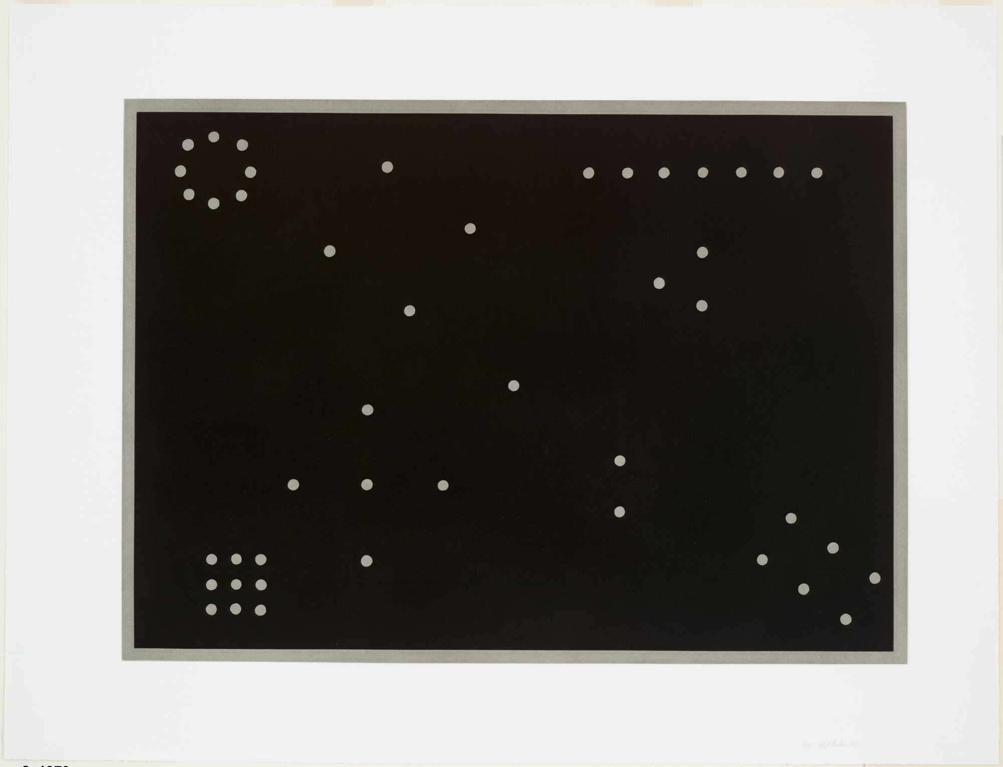 Mel Bochner. Rules of Inference. 1974