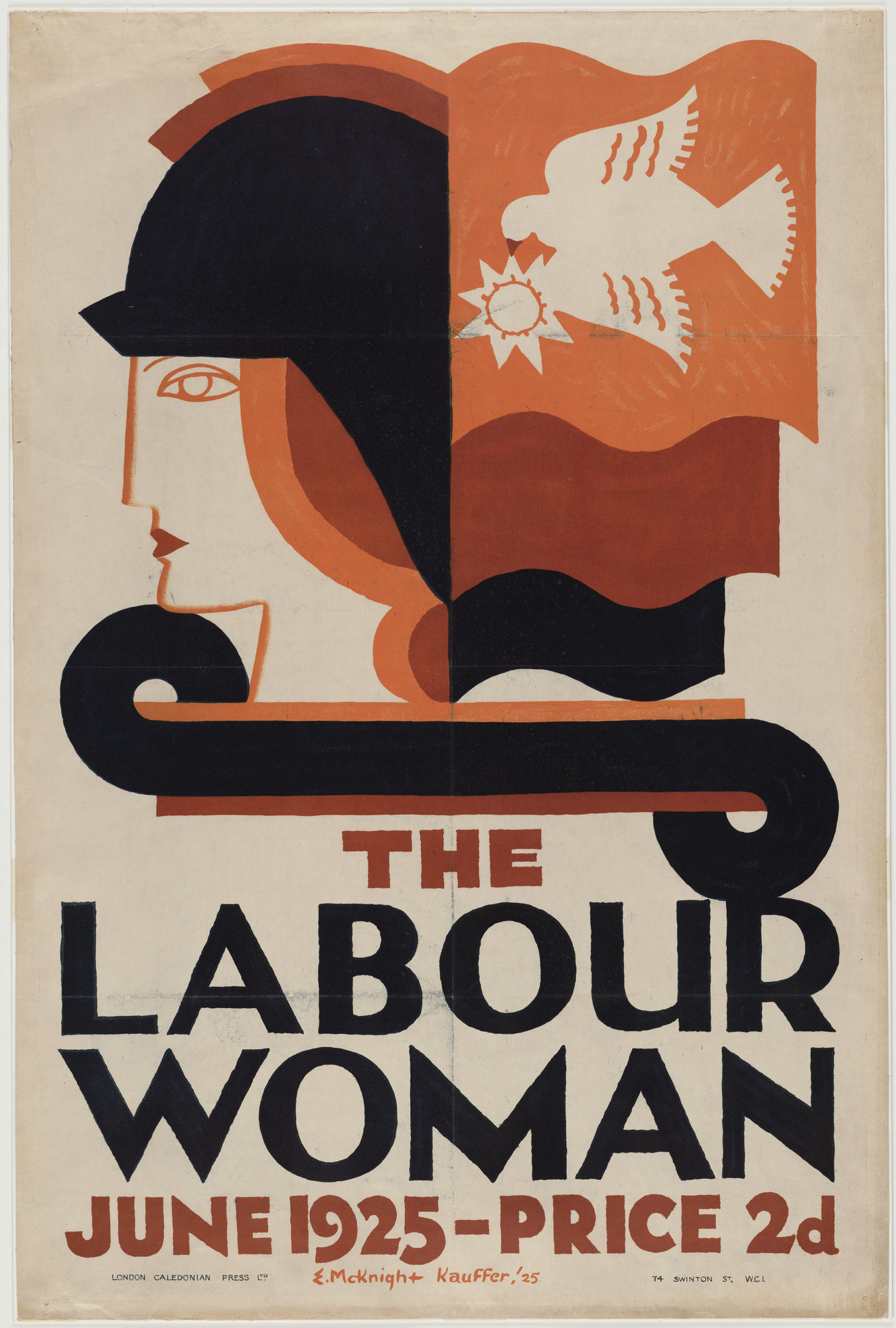 E. McKnight Kauffer. The Labour Woman. 1925