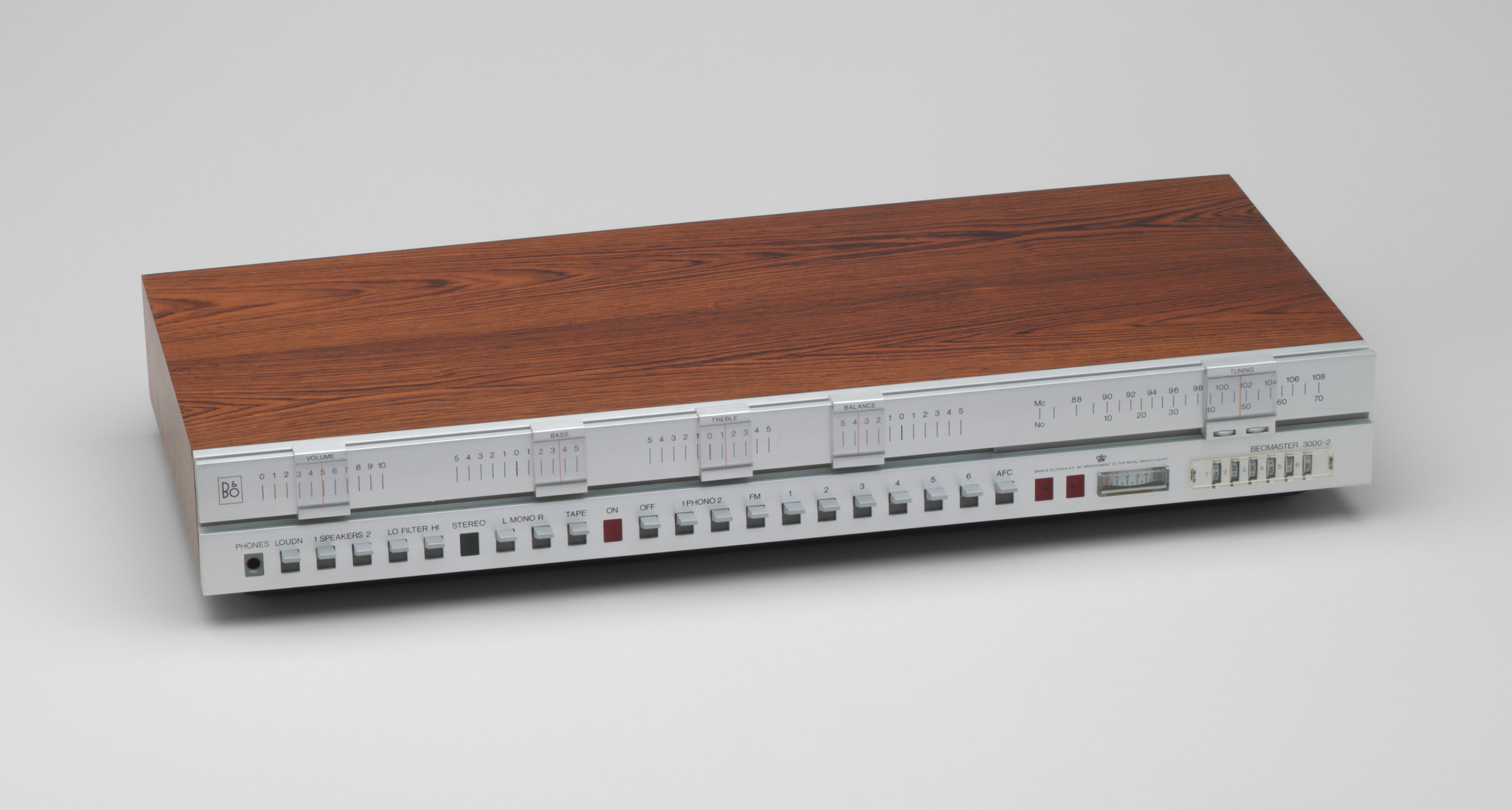 Jacob Jensen. Beomaster 3000-2 Tuner Amplifier. 1969