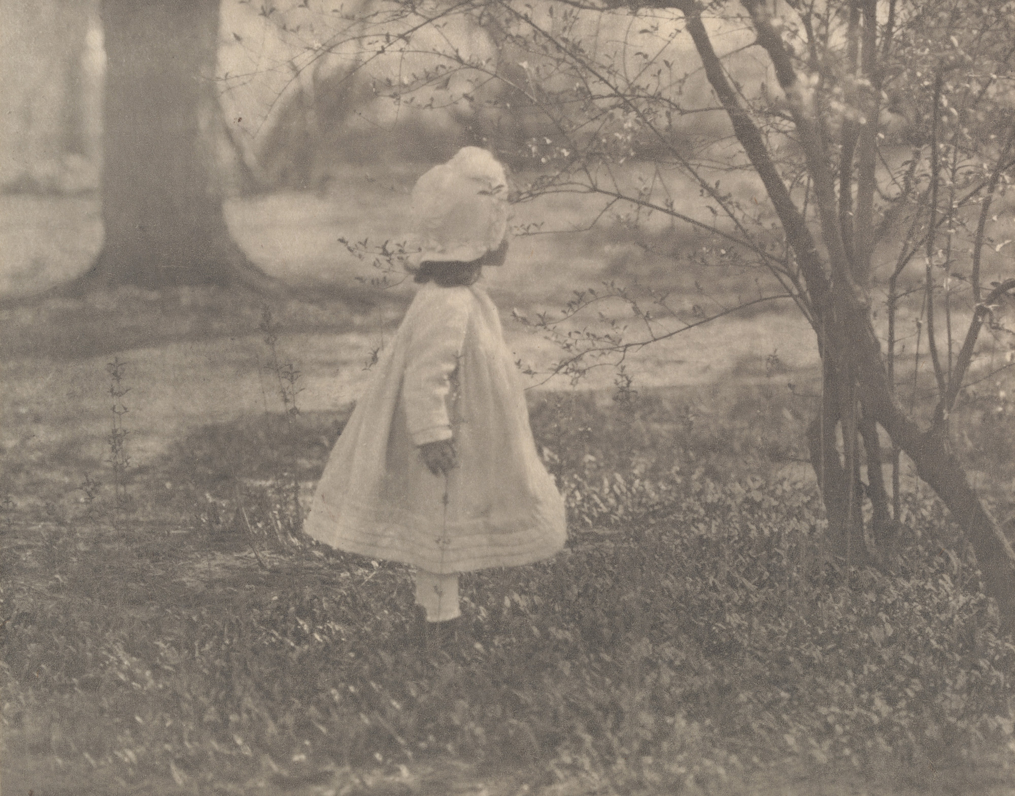 Alfred Stieglitz. Kitty Stieglitz, Central Park, New York. 1901