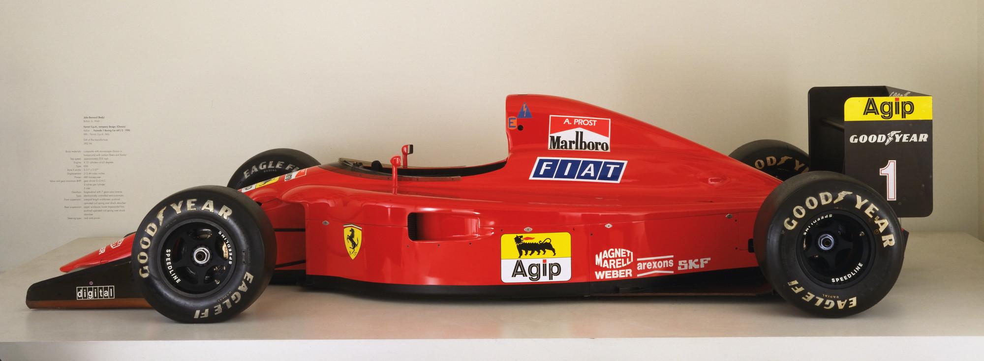 John Barnard, Ferrari S.p.A., Maranello, Italy Formula 1 Racing Car (641/2)  1990