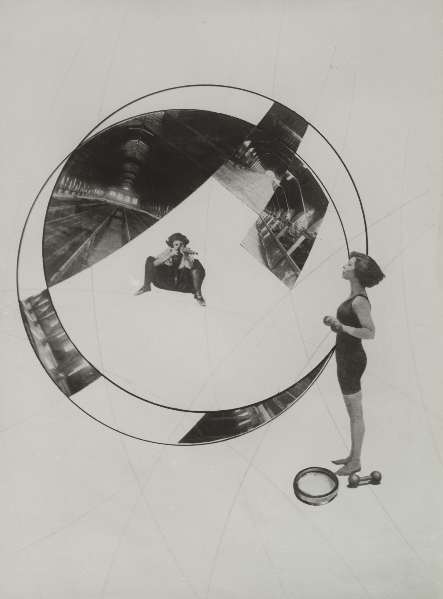 László Moholy-Nagy. Love Your Neighbor; Murder on the Railway. 1925