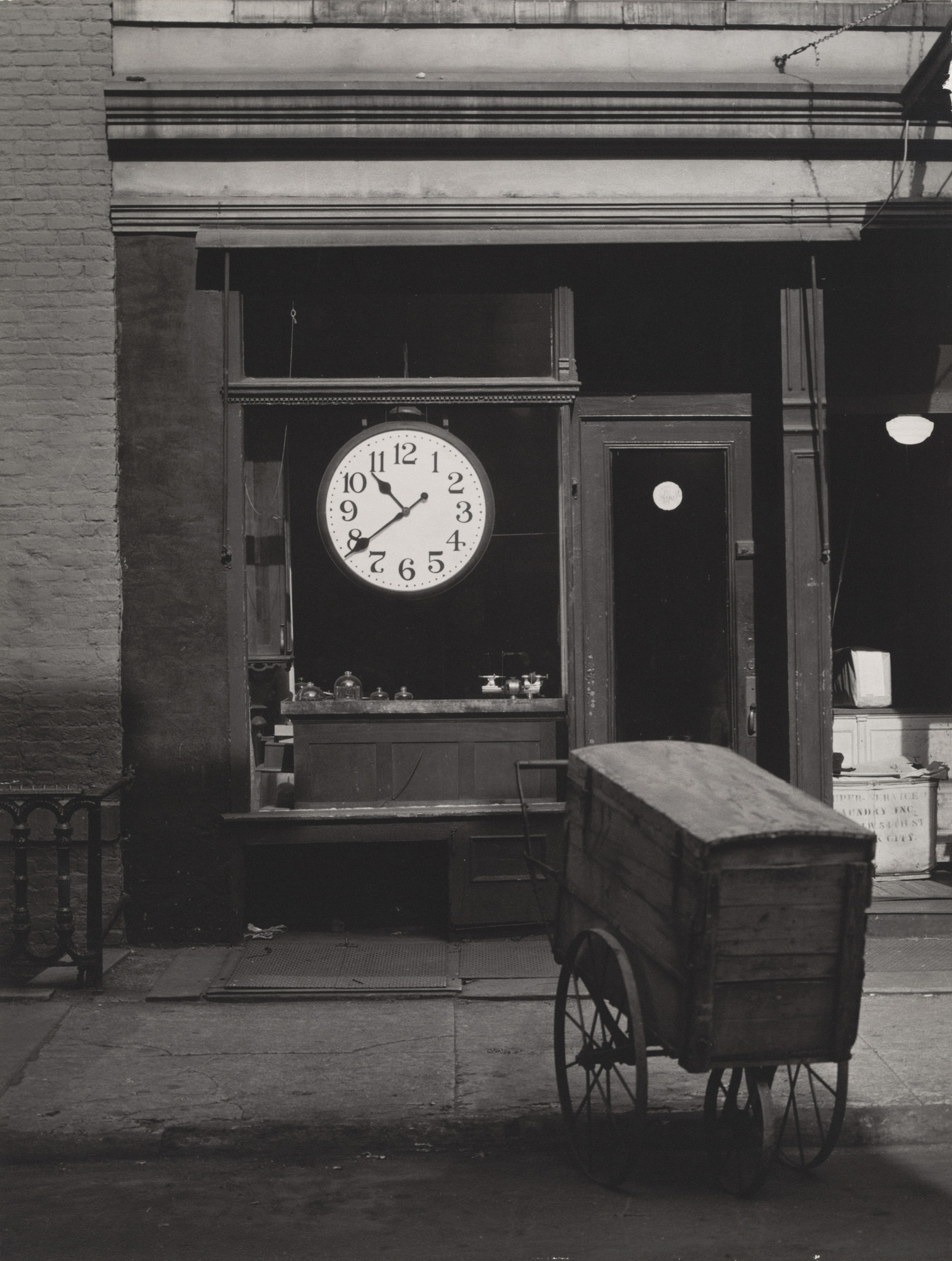 Berenice Abbott. Christopher Street Shop. 1948