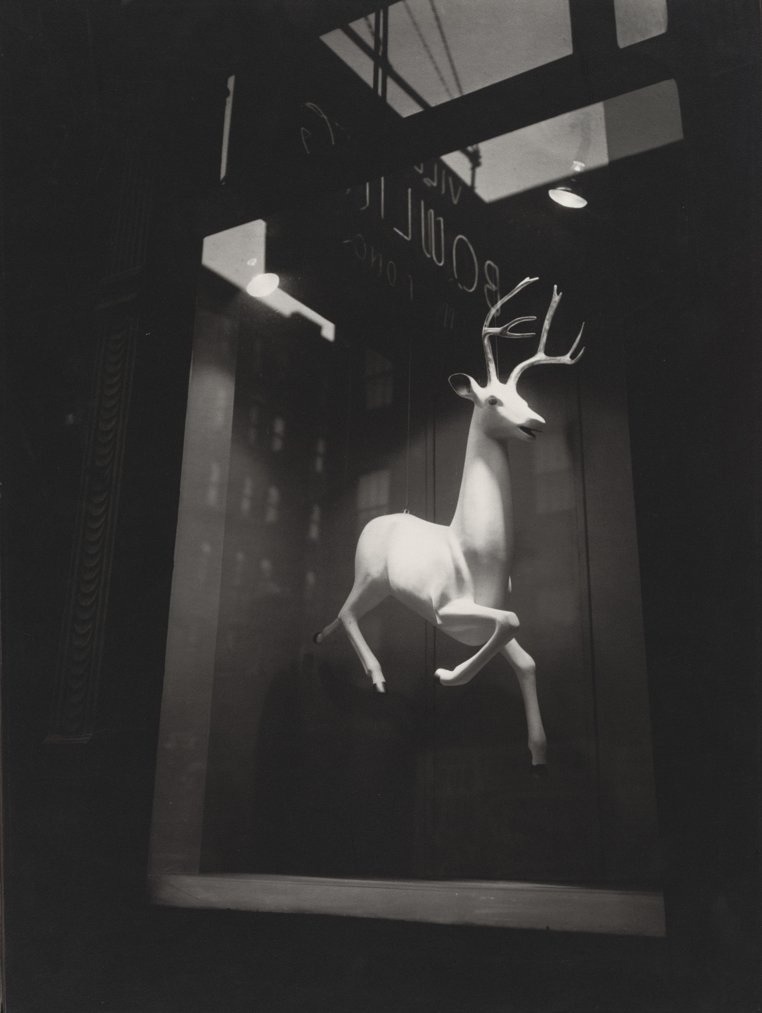 Berenice Abbott. An Industrial Designer's Window, Bleecker Street. 1948