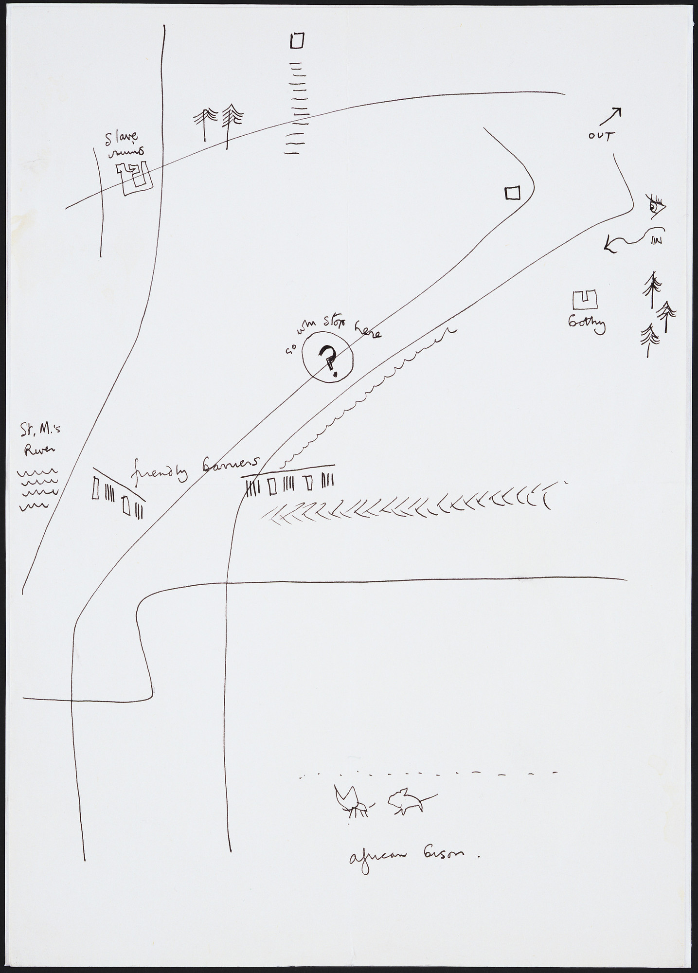 Cedric Price. Generator Project, White Oak, Florida, Early combined site survey and initial proposals. 1978-80