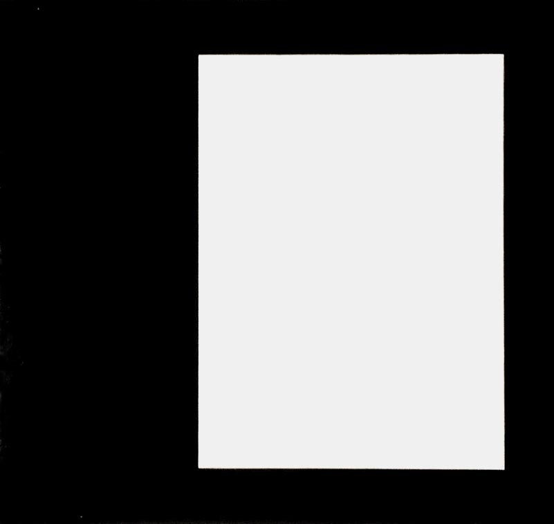 Ellsworth Kelly. Rectangle from the series Line Form Color. 1951