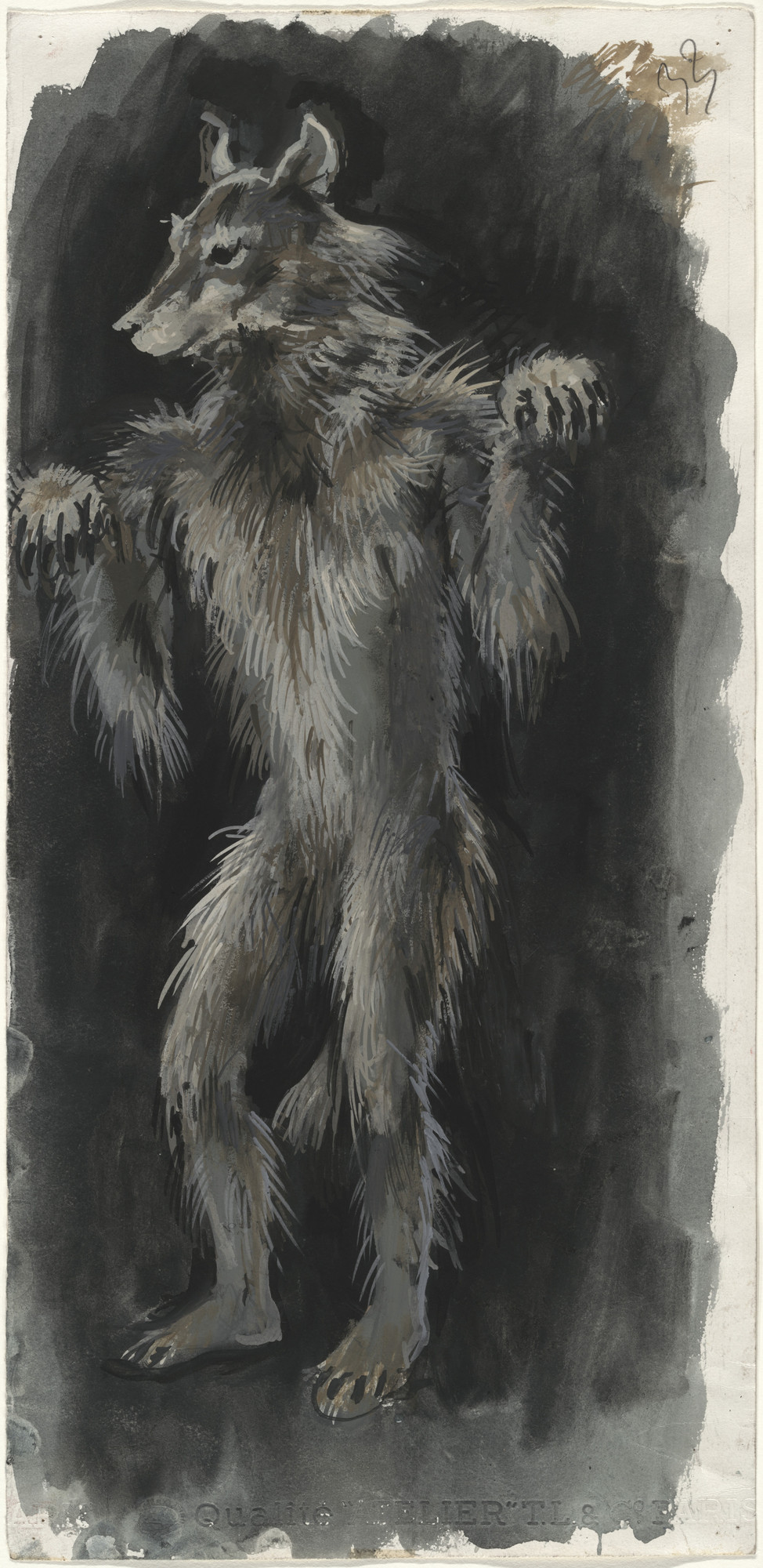 Pavel Tchelitchew. Wolf, from Nobilissima Visione or St. Francis. 1938