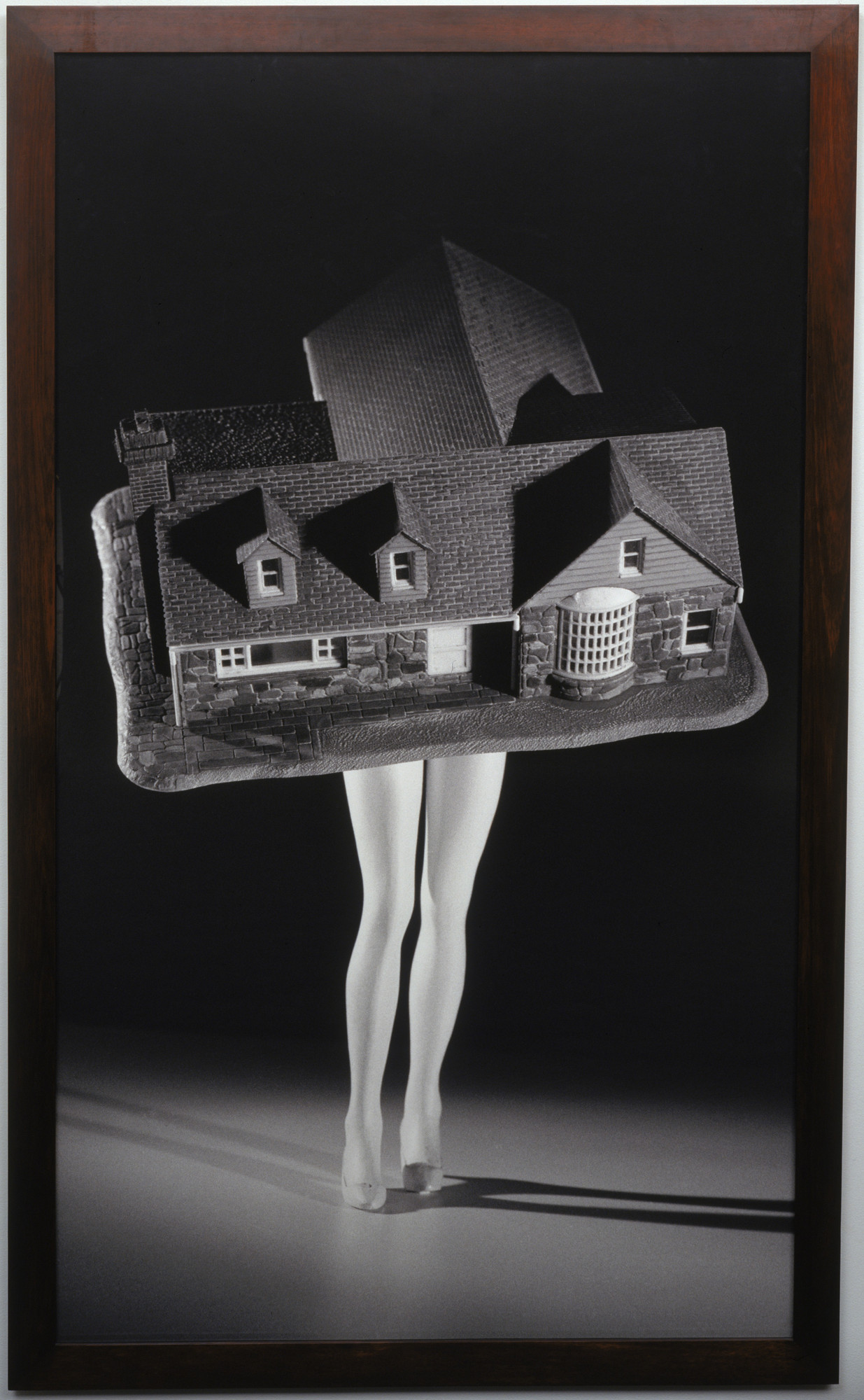 Laurie Simmons. Walking House. 1989