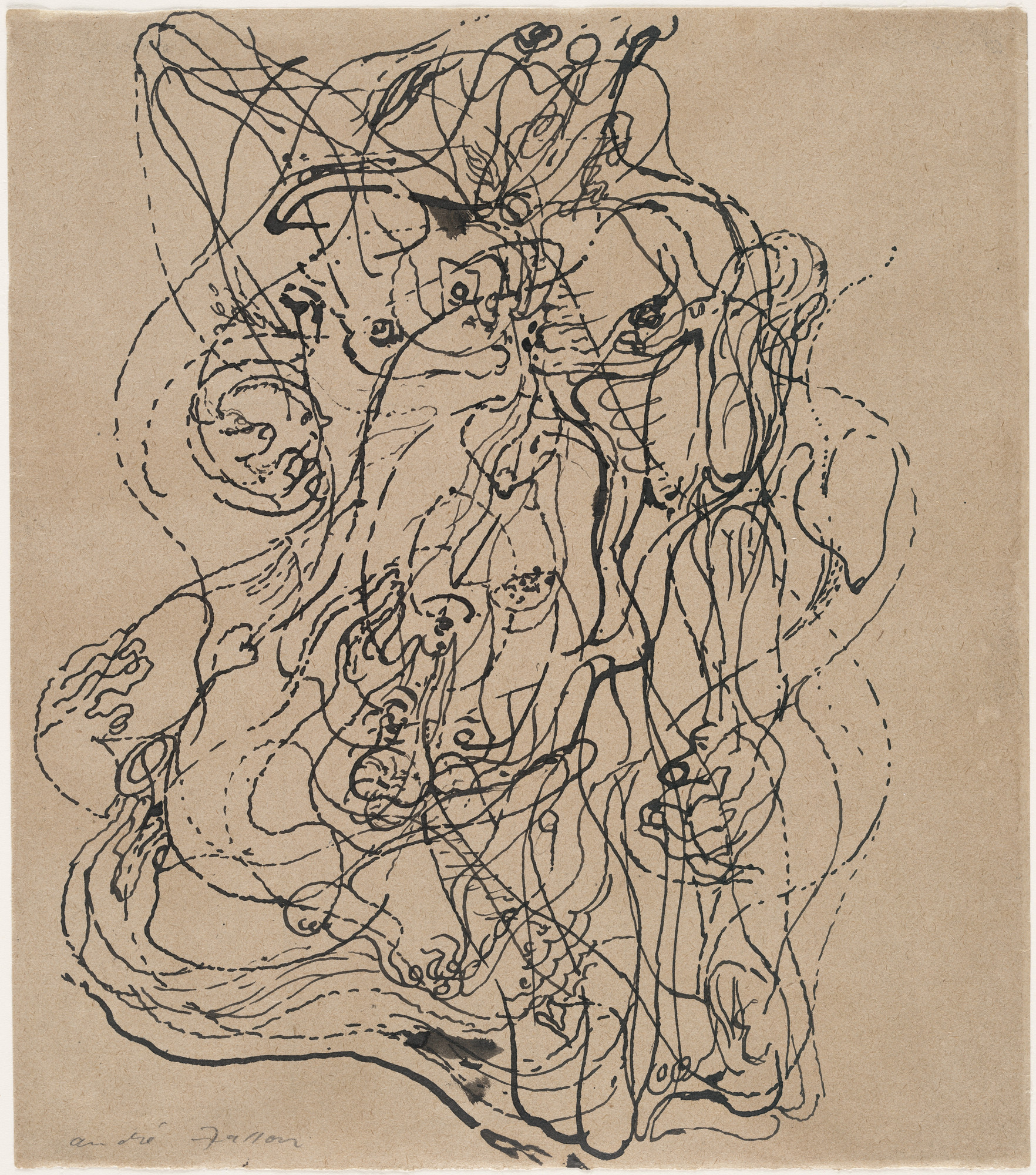 André Masson. Automatic Drawing. (1924)