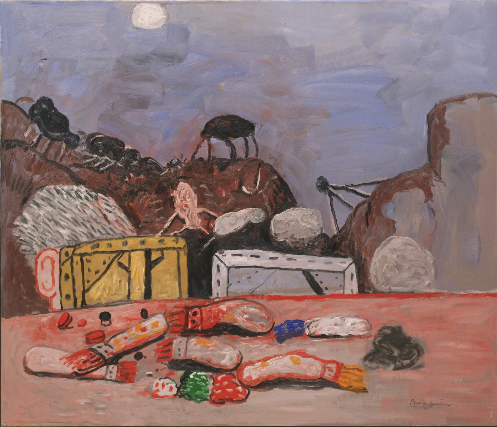 Philip Guston. Moon. 1979