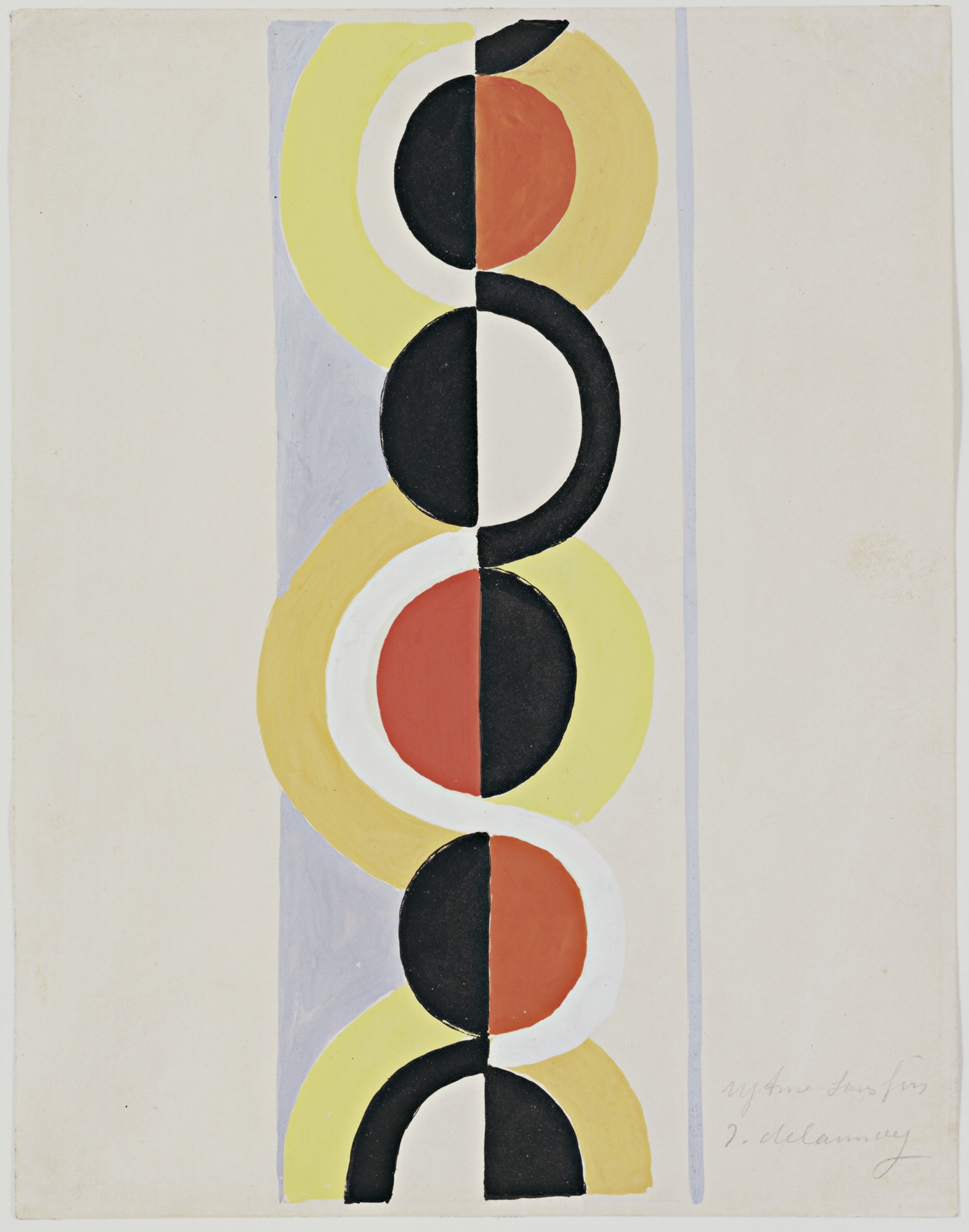 Robert Delaunay. Rhythm Without End. (1935)