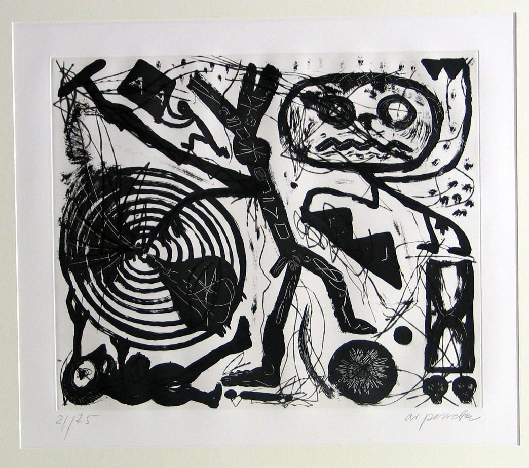 A.R. Penck (Ralf Winkler). What is Gravity? (Was ist Gravitation?). (1984)