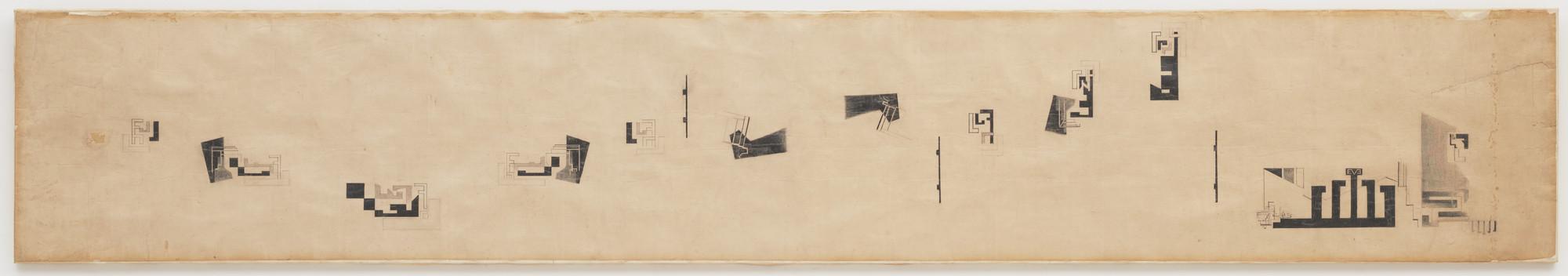 Ny Hans Richter. Fugue (Fuge). 1920 | MoMA ZO13