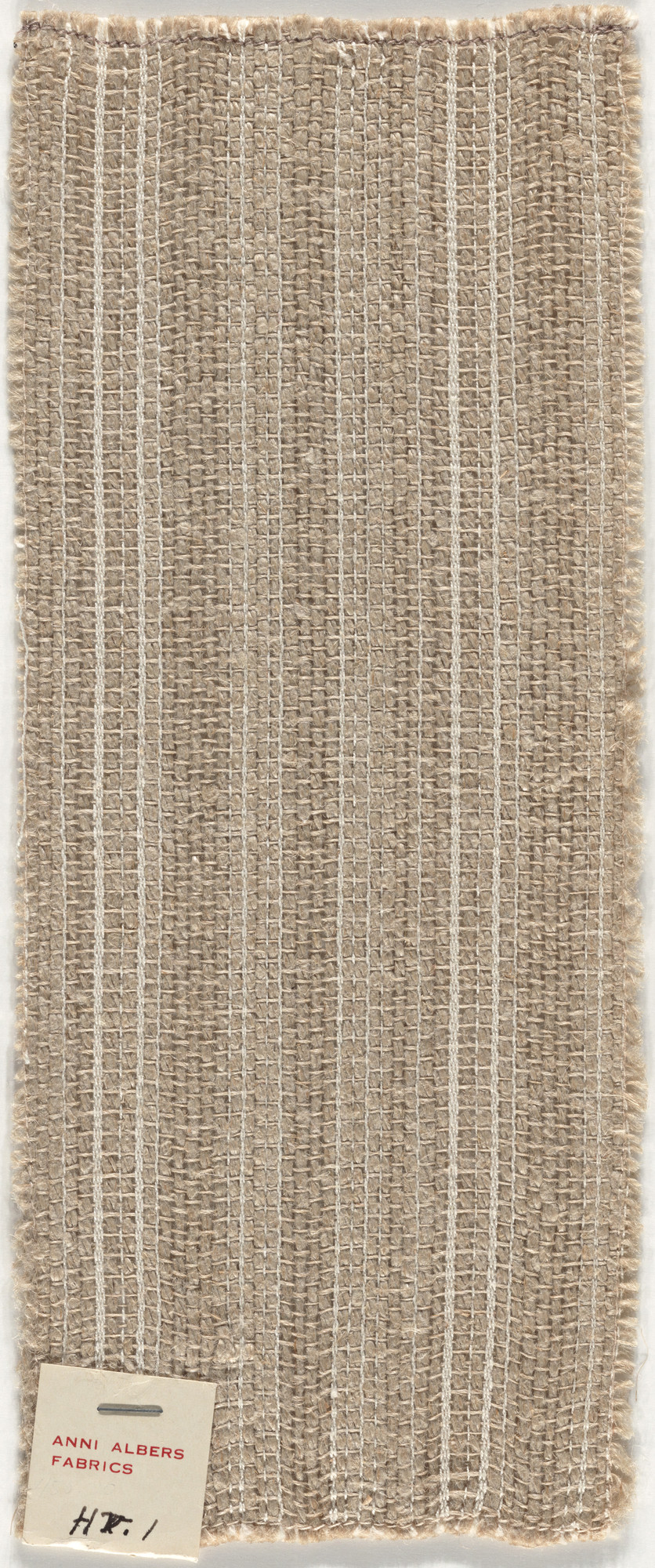 Anni Albers. Fabric Sample. After 1933